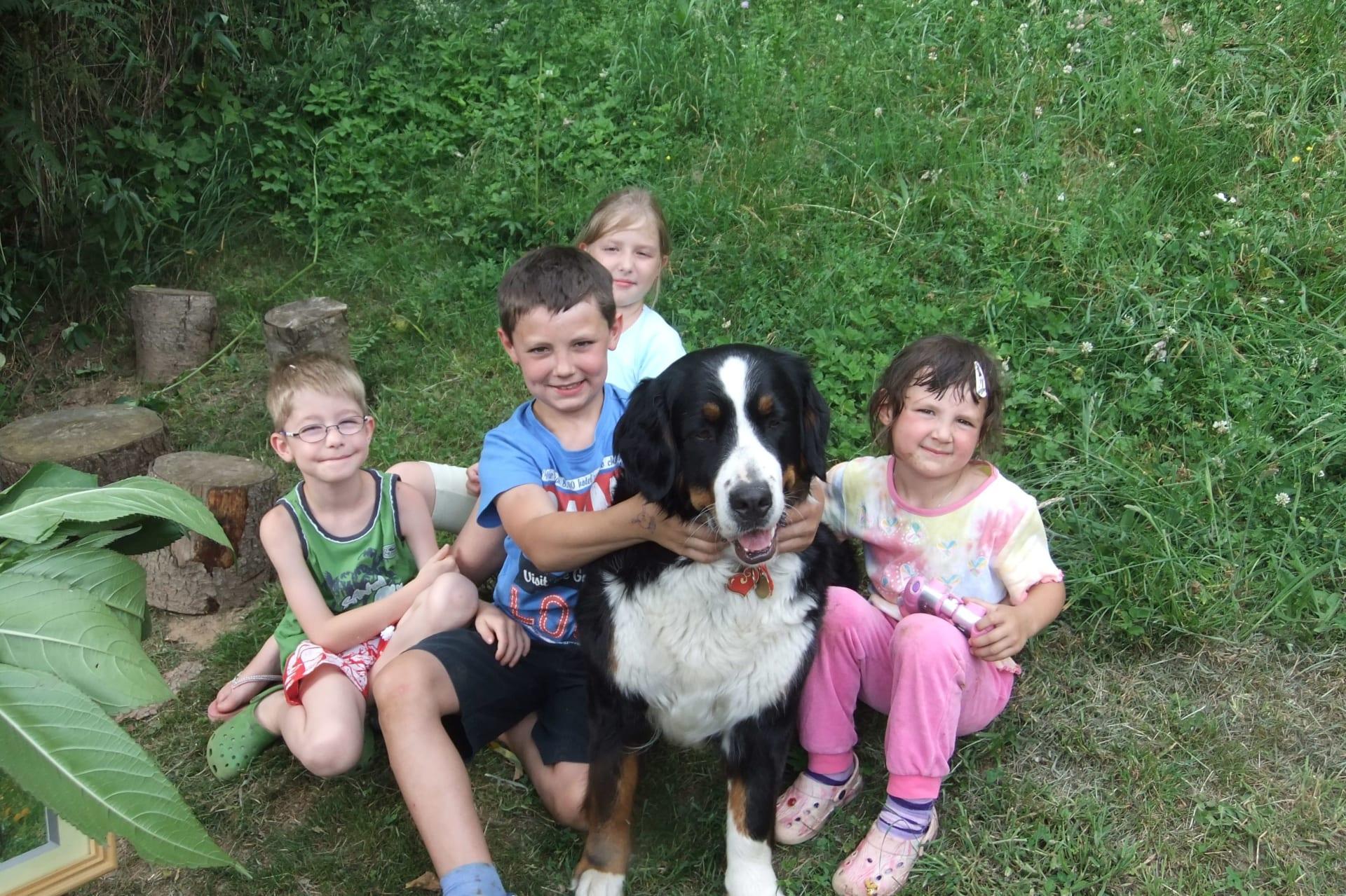 Kinder lernen unseren Bauernhof kennen !