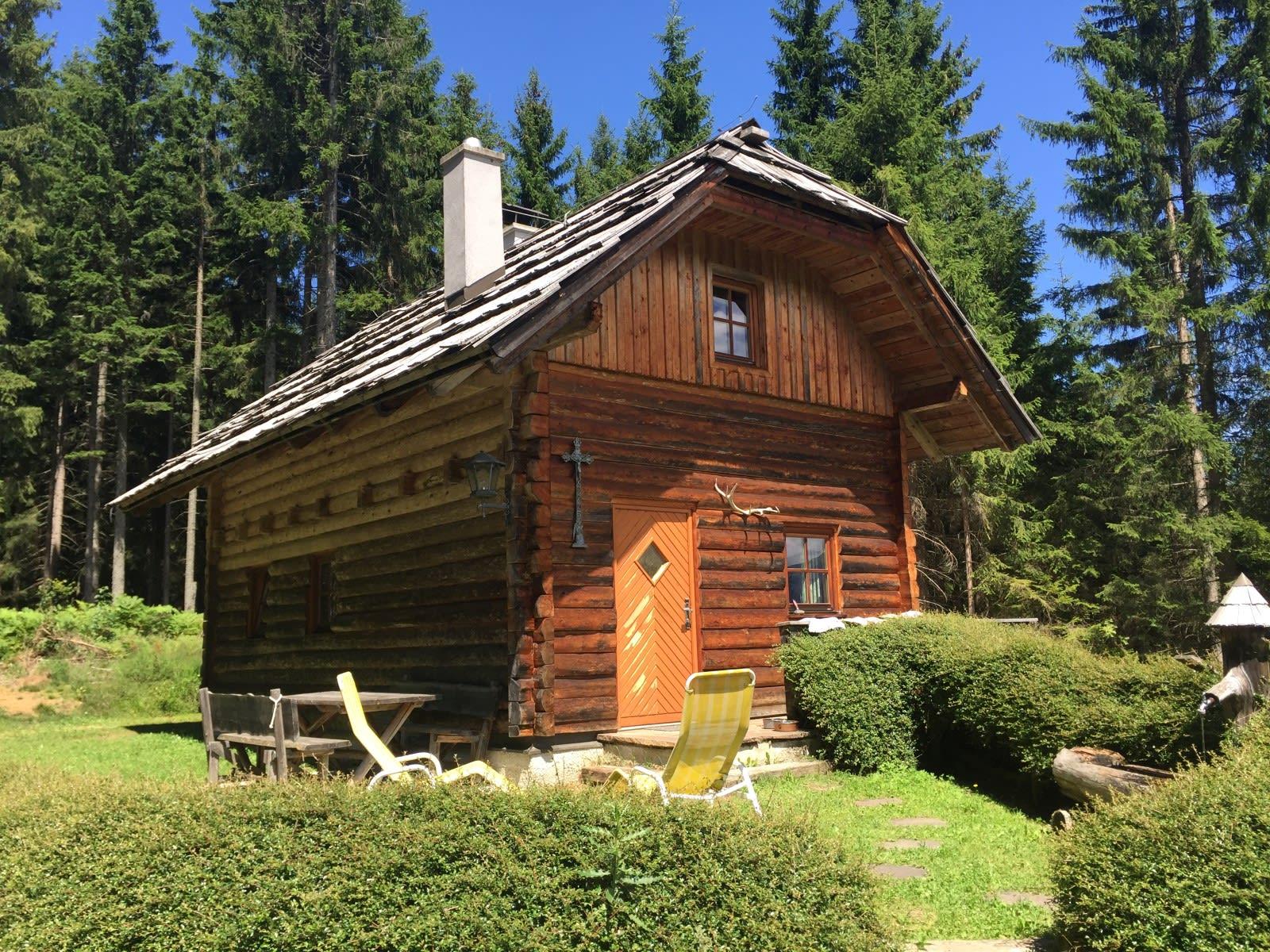 Silbertannenhütte - Almhütte am Goldeck