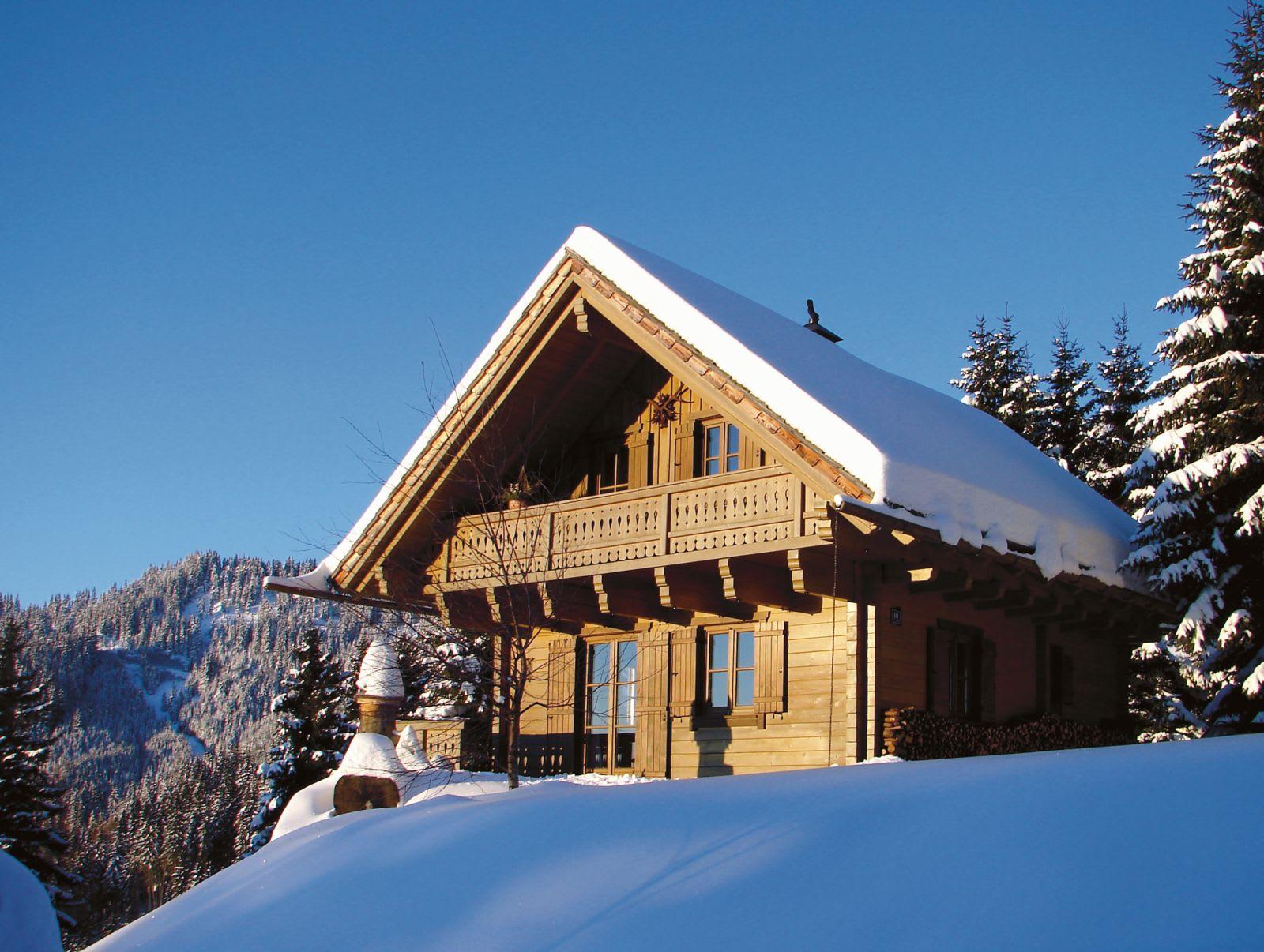 Amhütte Winter