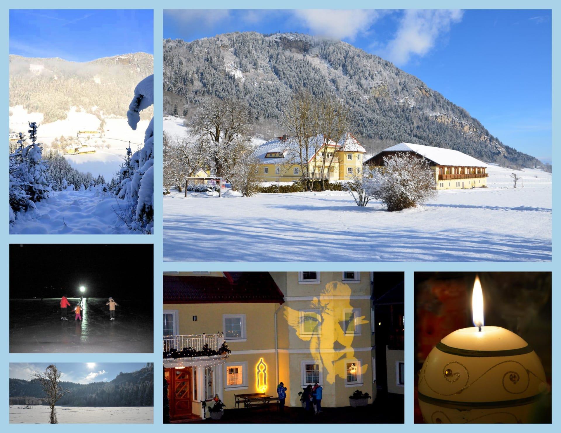 Unser schöner Talhof im Winter!