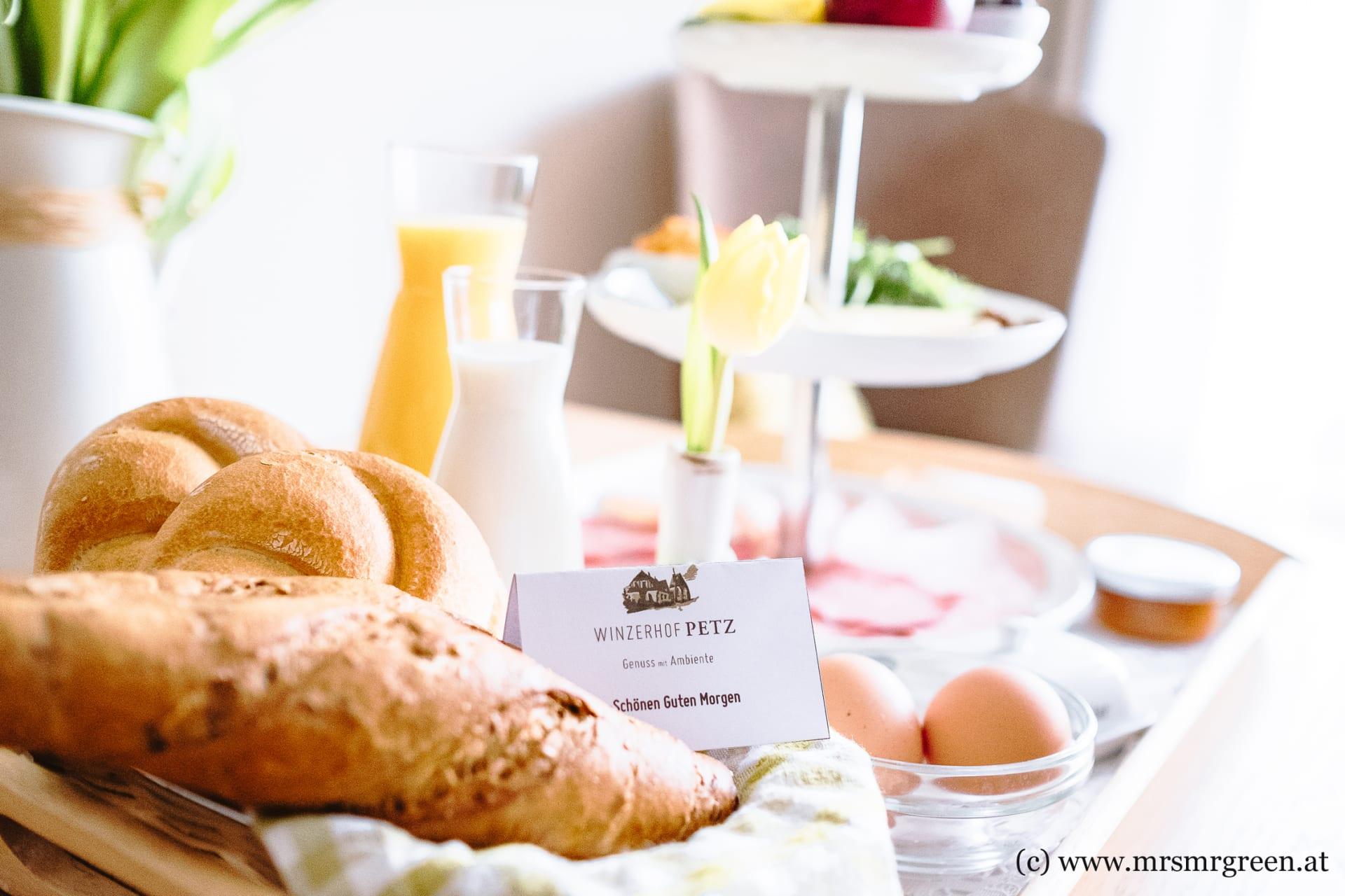 Winzerhof Petz - Frühstückskorb