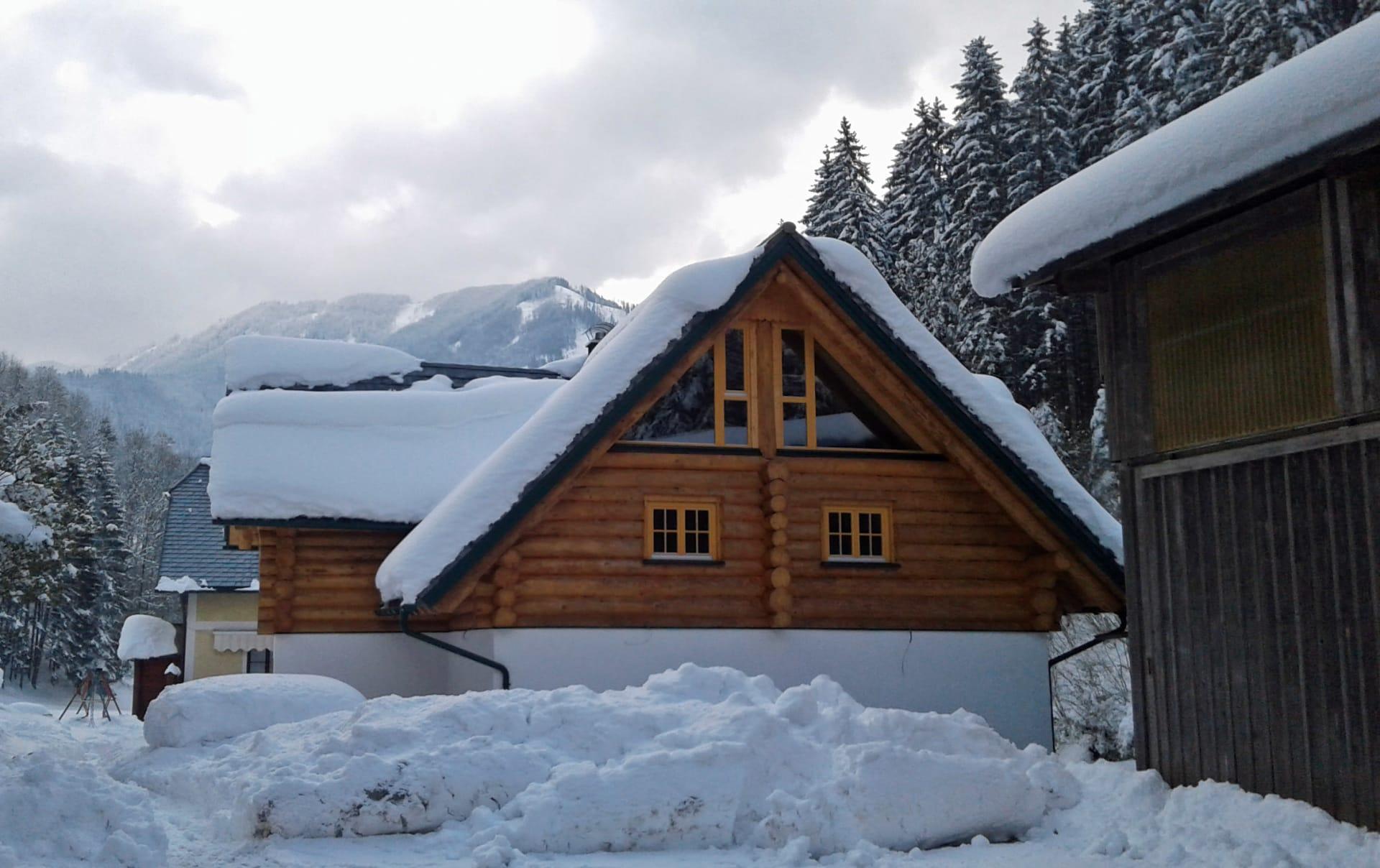 Ferienhof Schelchen - Unser Ferienhaus im Winter
