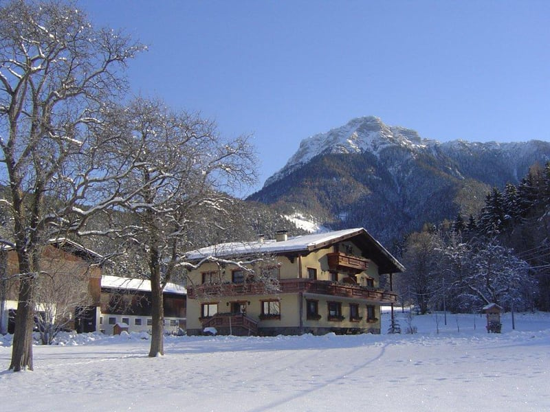 Moar Farm in the winter