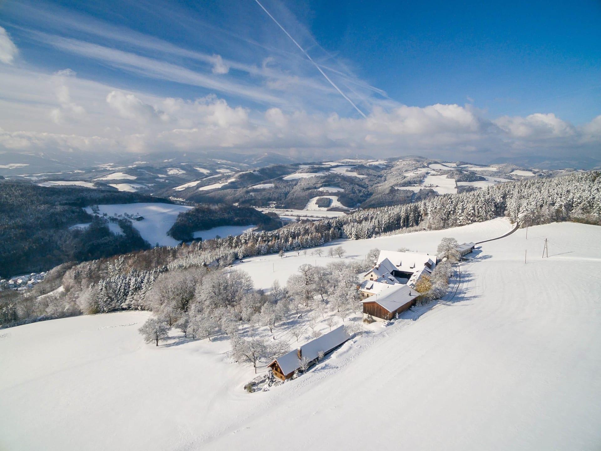 Wachahof Winterlandschaft