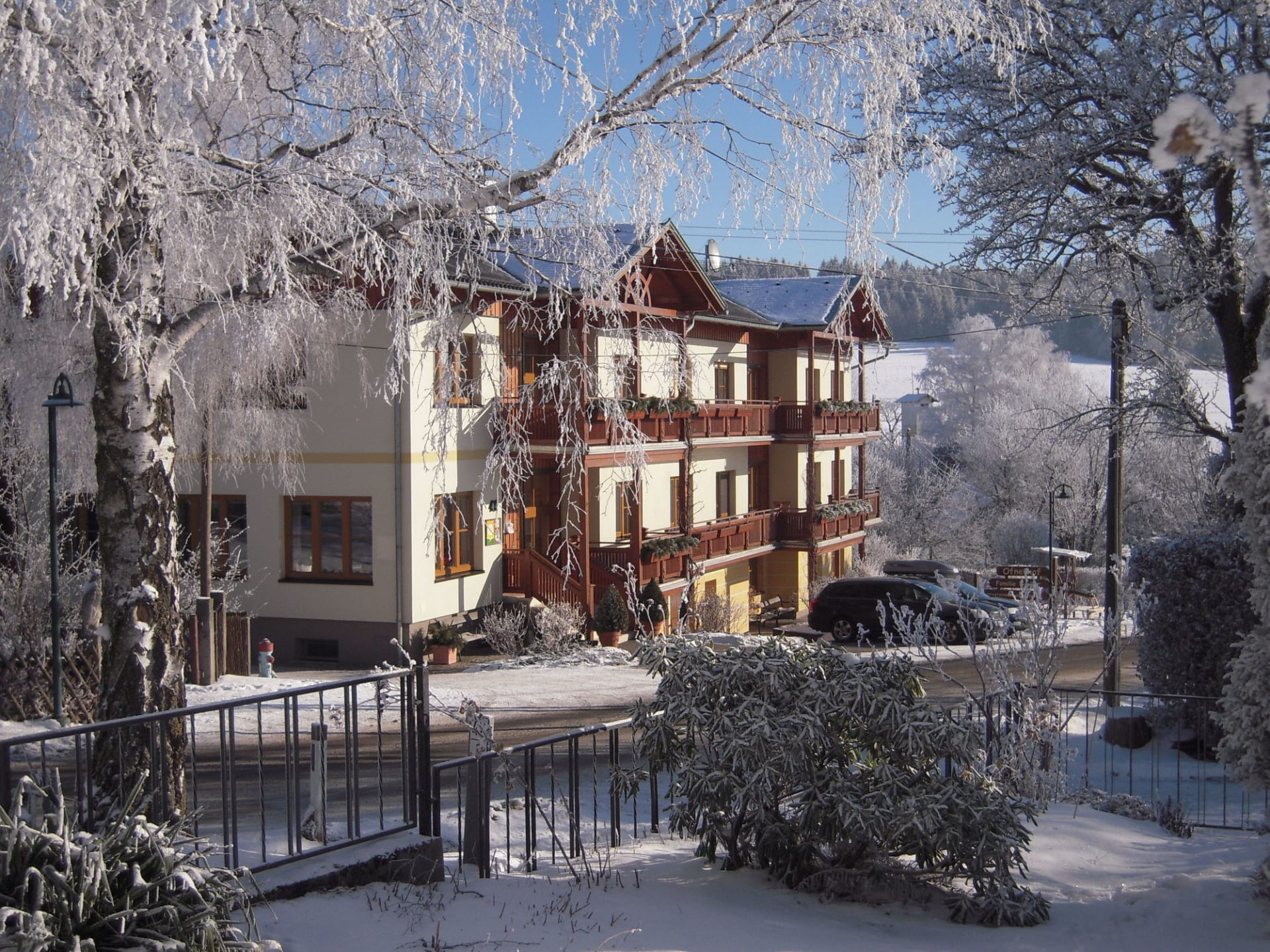 Winterromantik am Ofnerhof