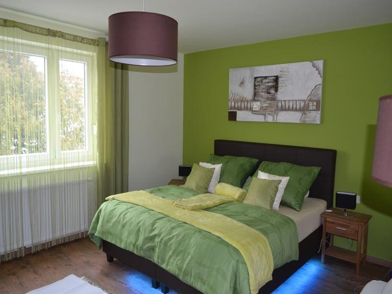 Zimmer Veltliner - Schlafzimmer