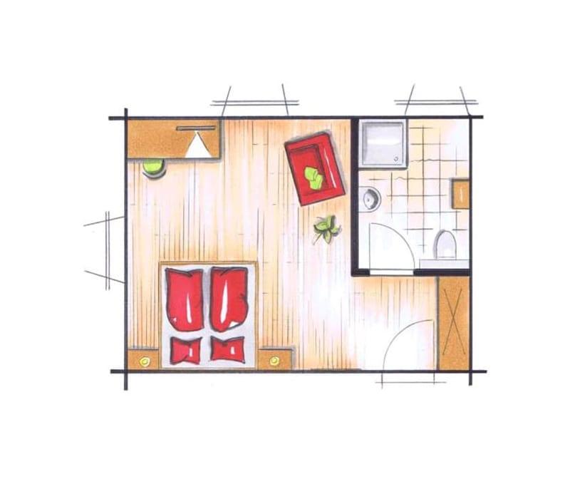 Doppelzimmer Gerste