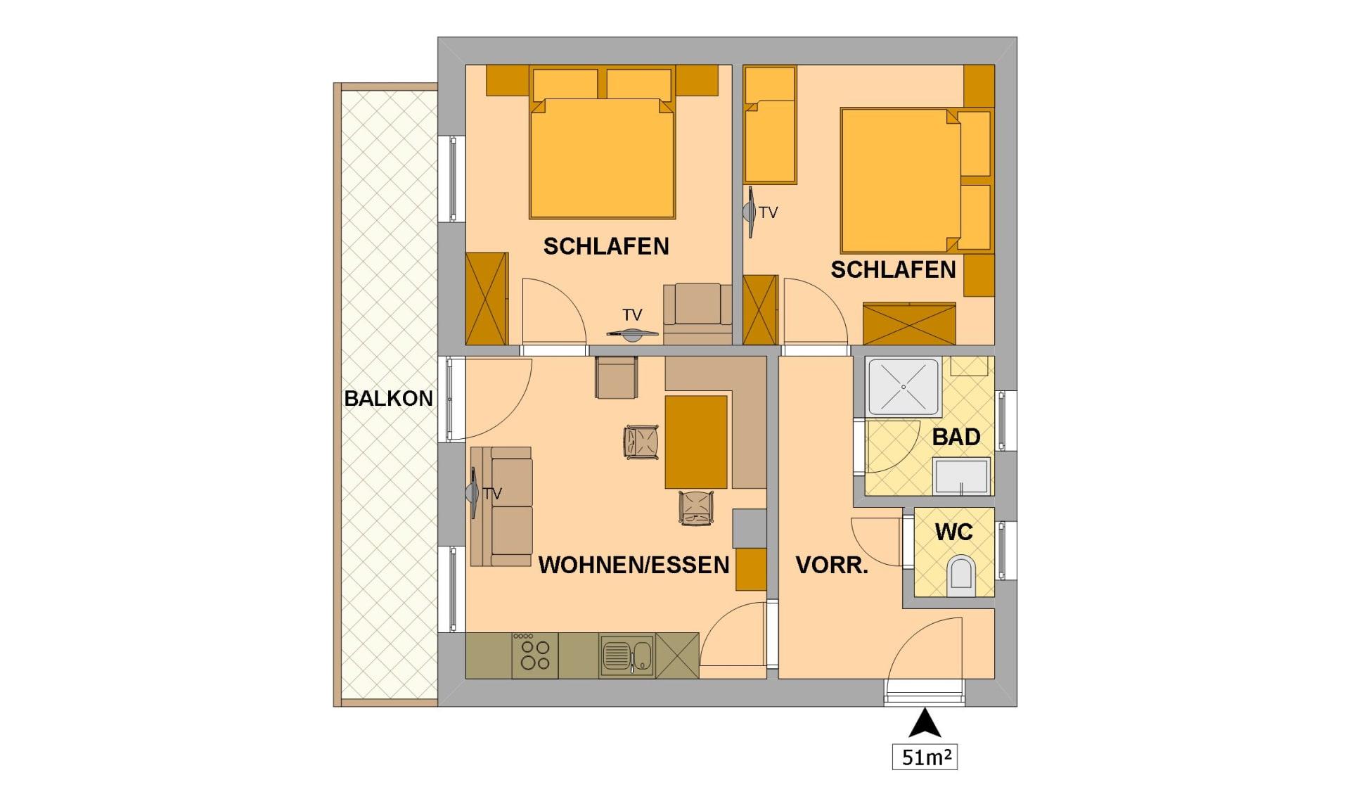 Appartement Landlust