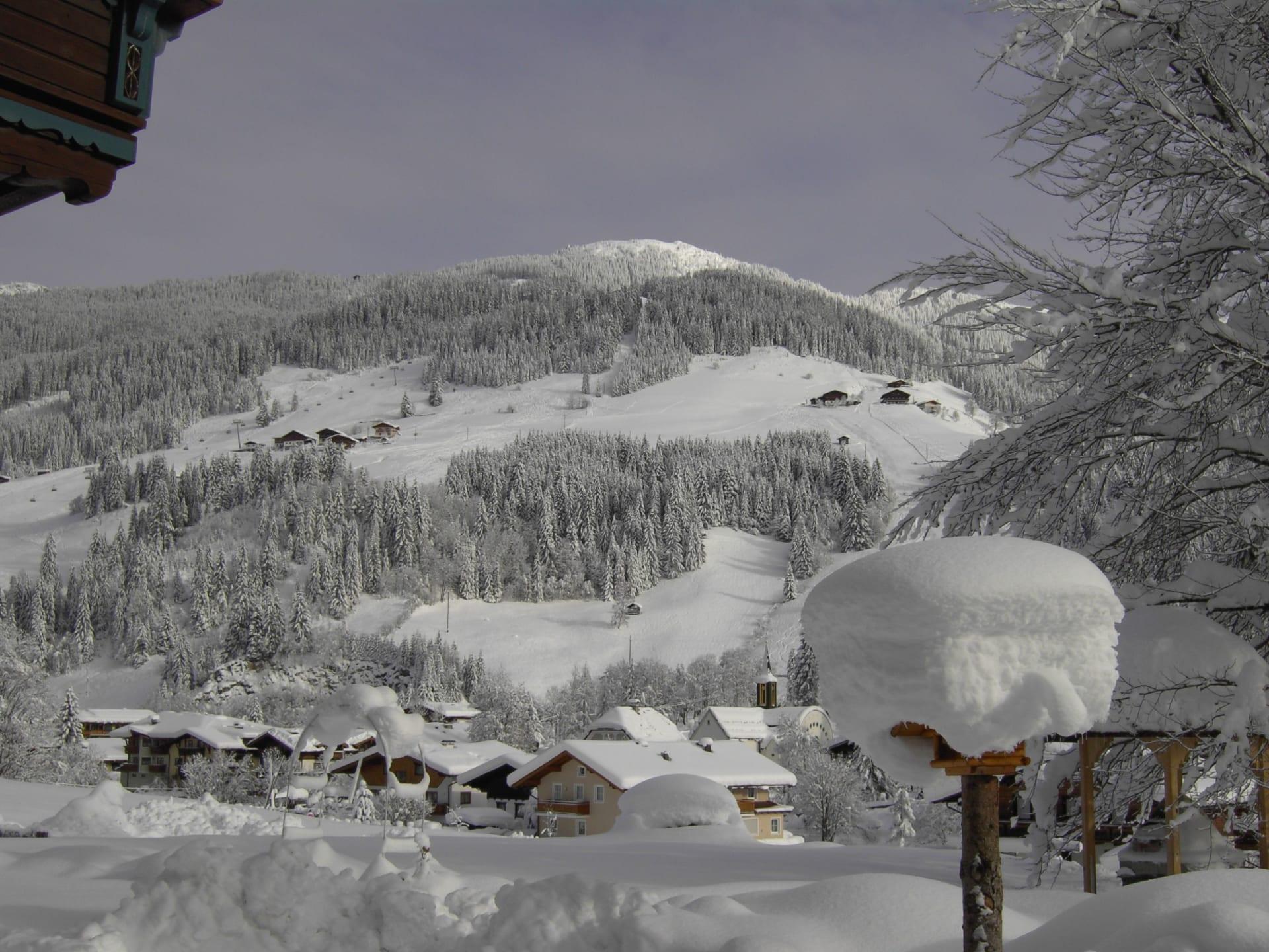 Blick zum Skiberg