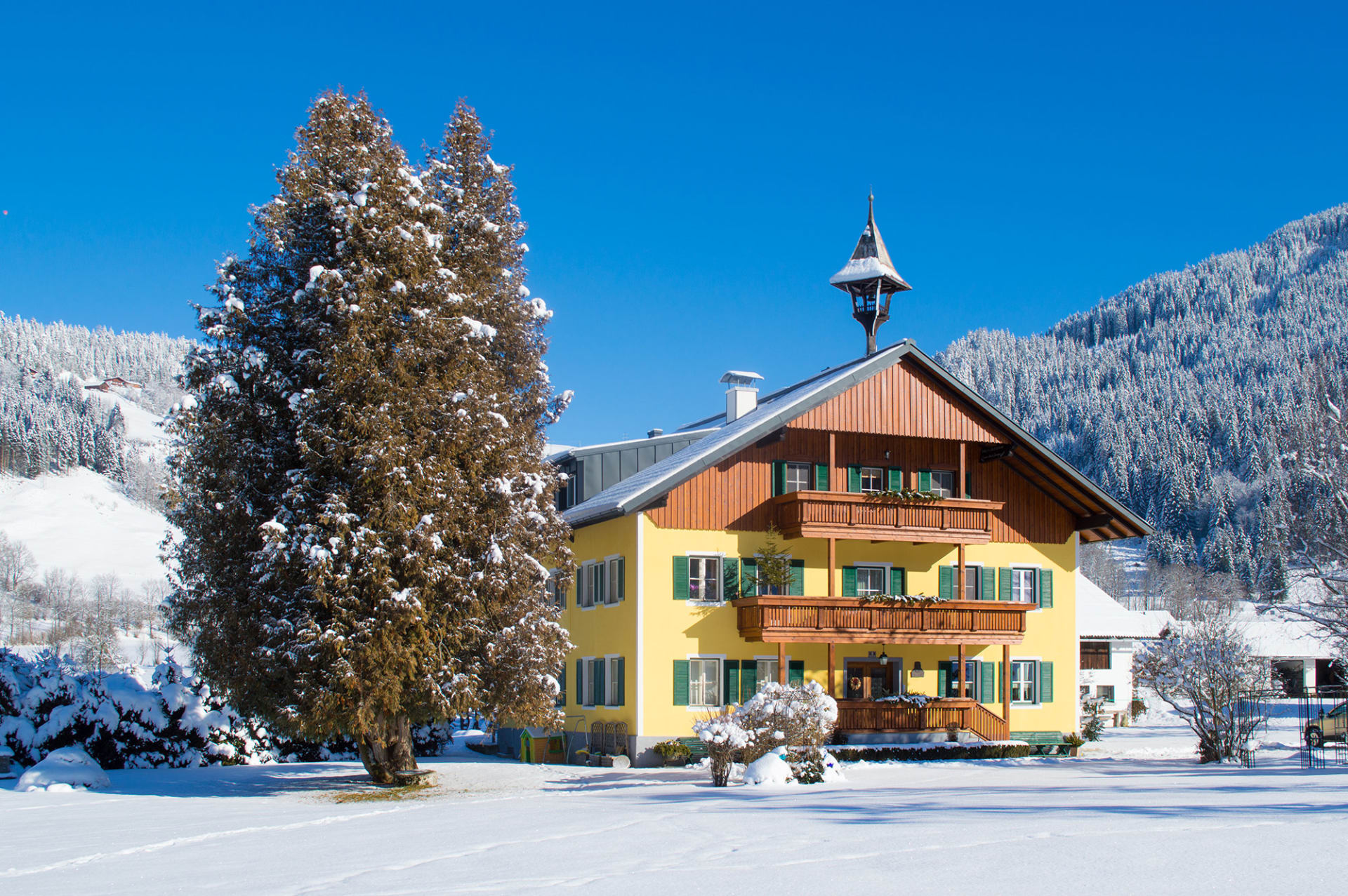 Winter am Biberhof