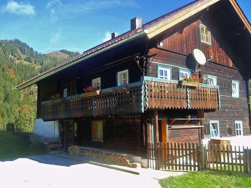 Bauernhaus Gschwandner St. Johann - Sommer Außenansicht