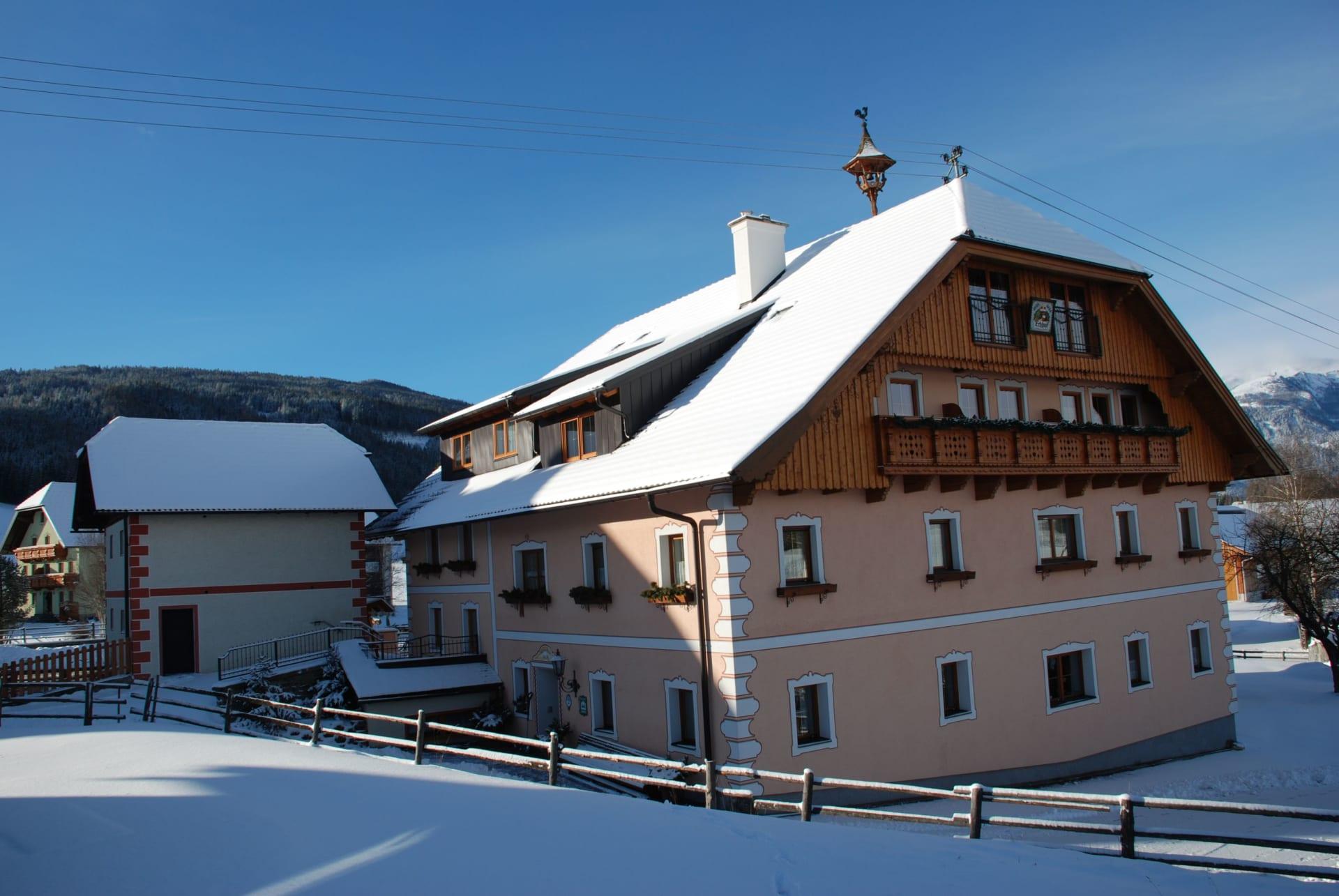 Winter Hausfoto