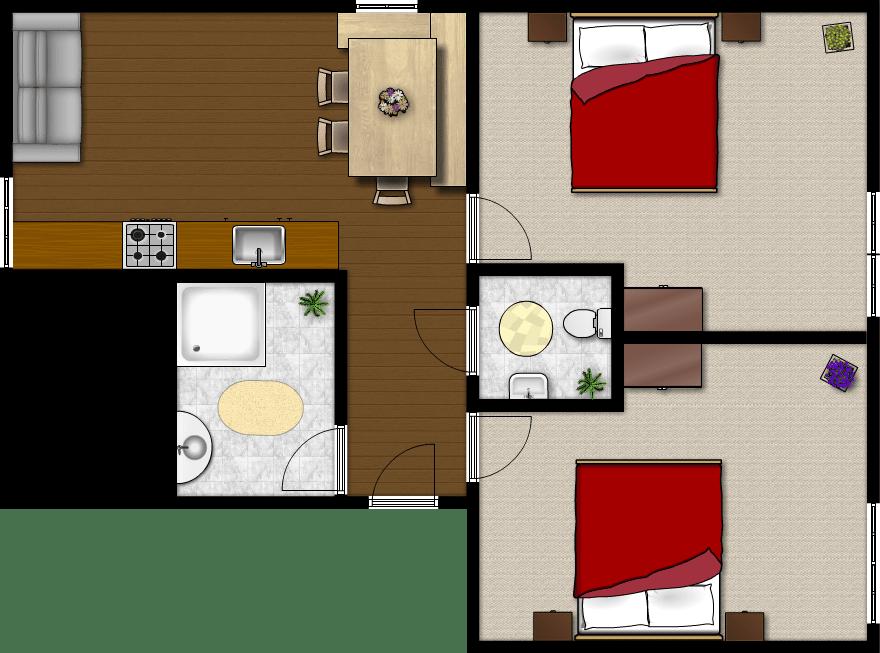 Wohnung Burgblick