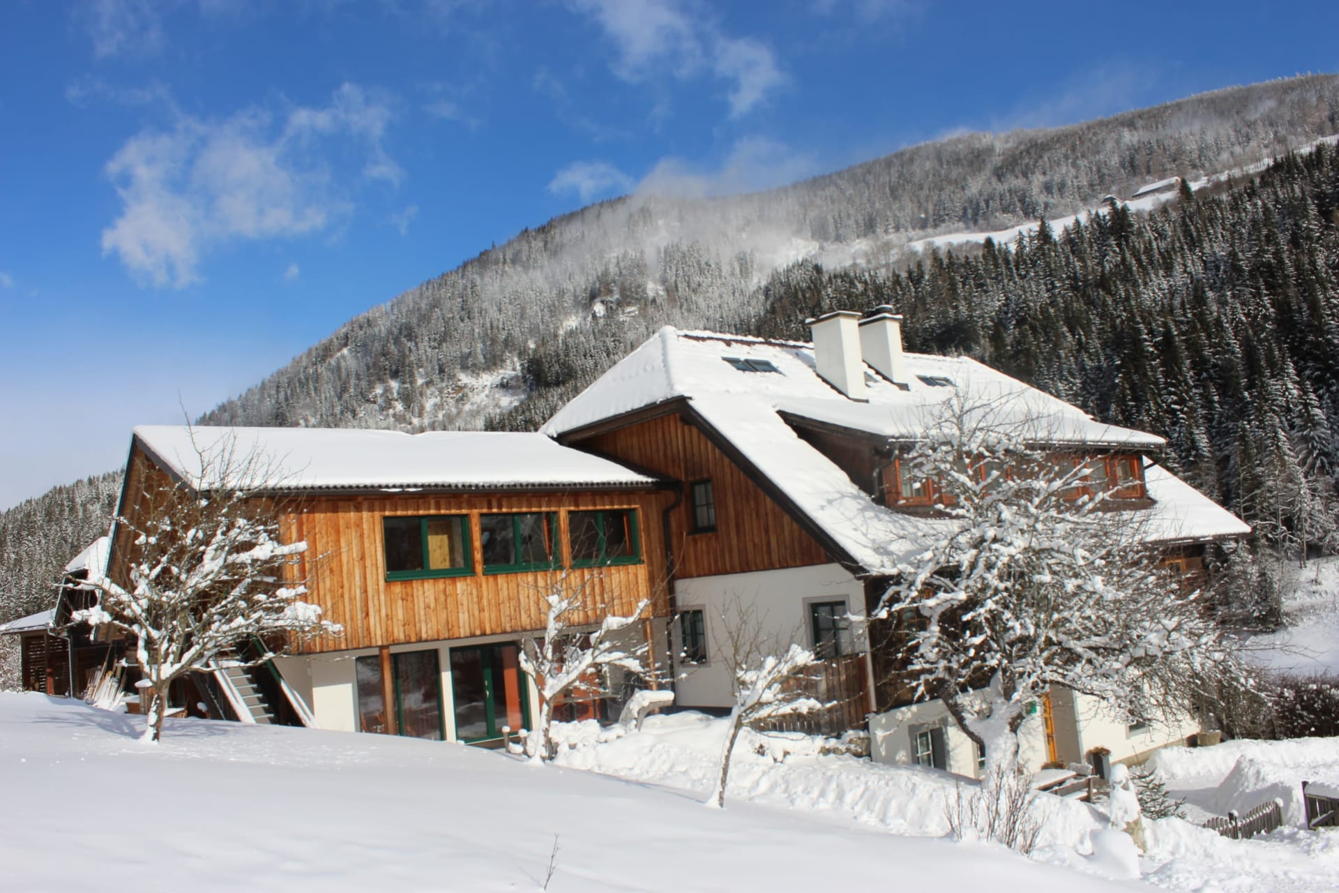 Tonibauerhof Winter