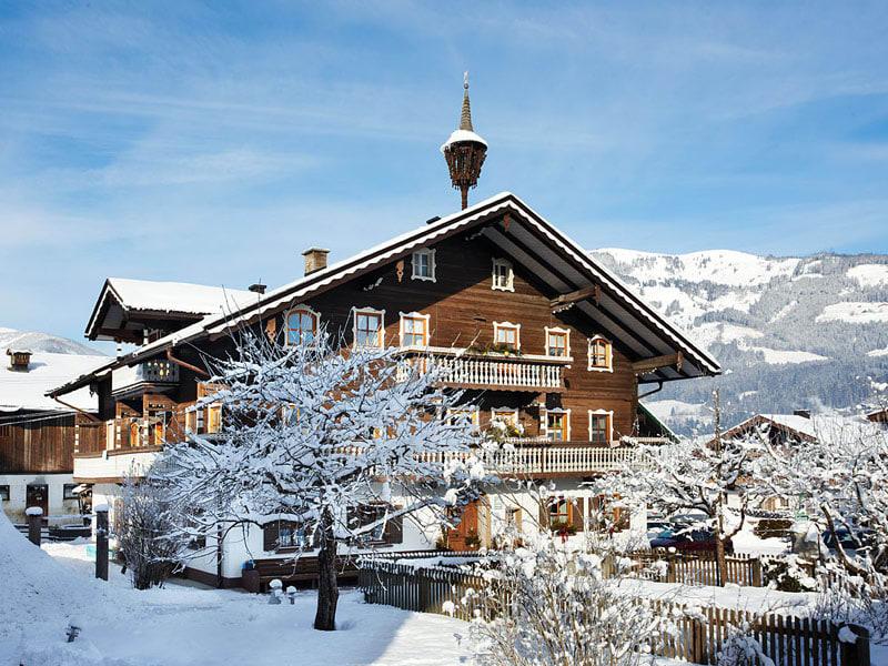 Winter Bauernhaus Scharrerhof