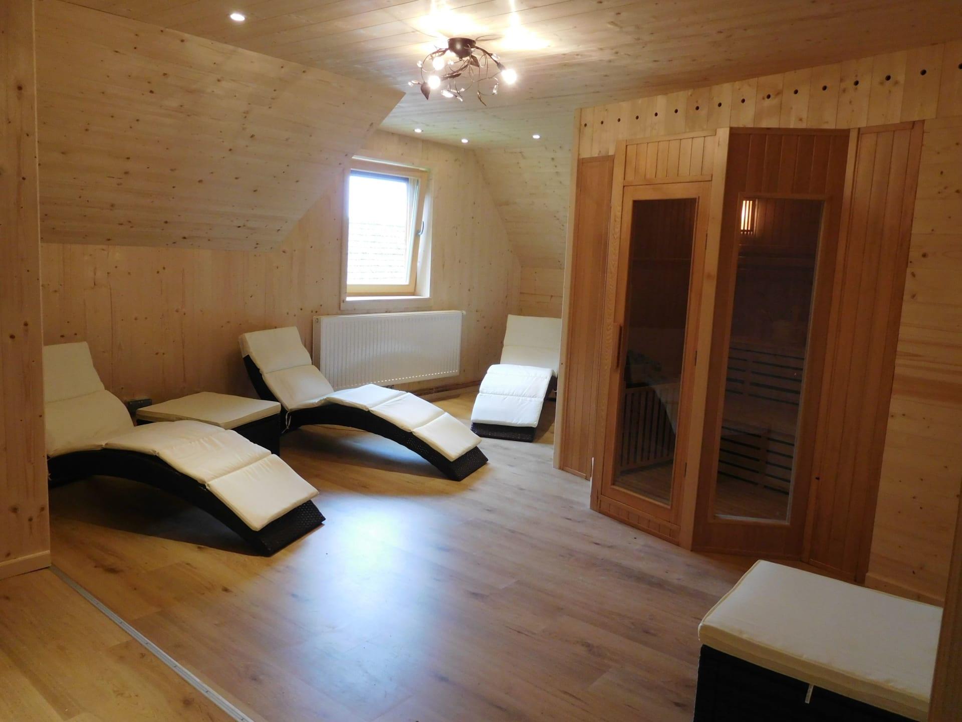 Sauna- und Relaxraum