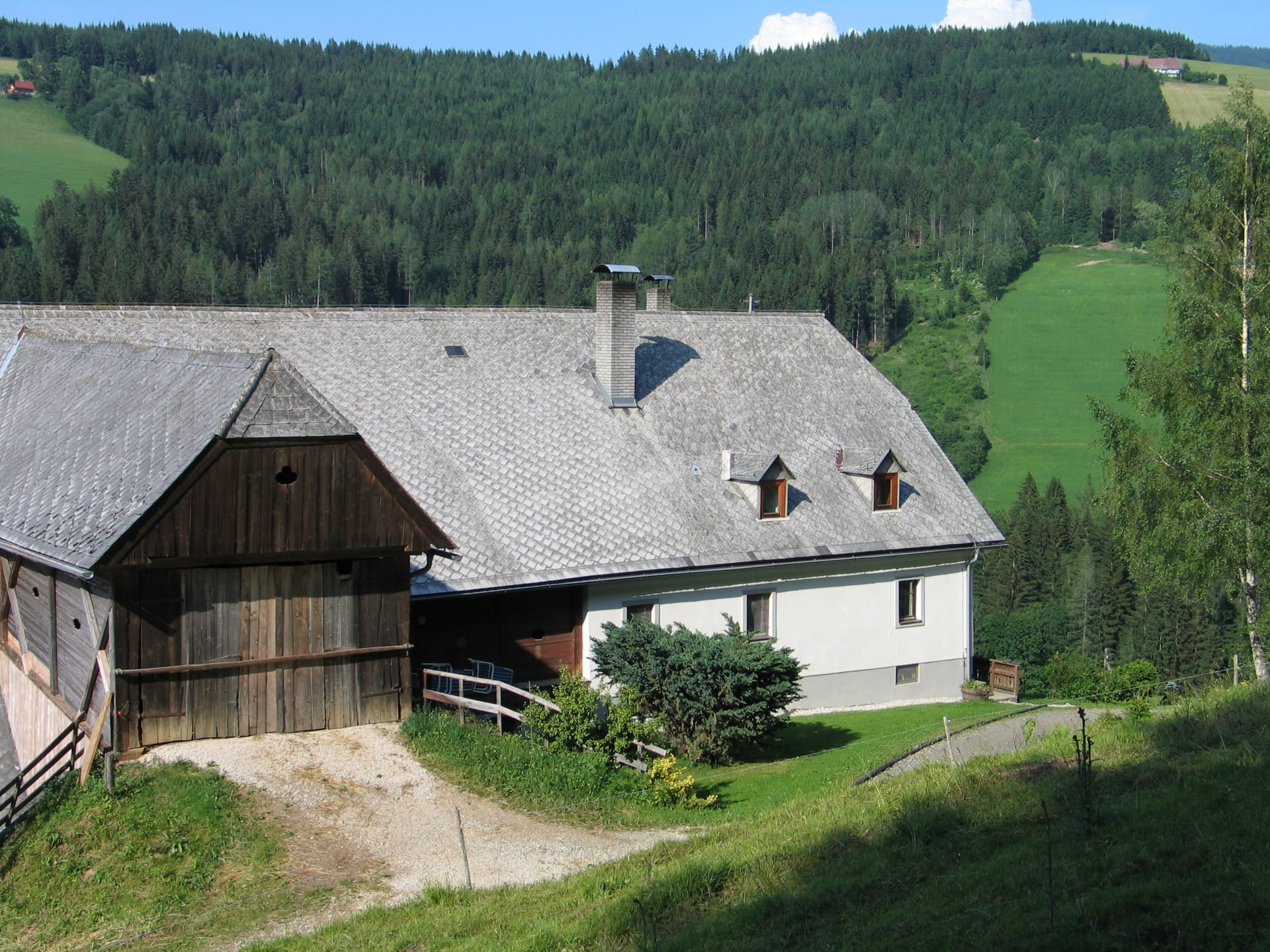 Sommerurlaub auf der Reiterhube, Zirbitzkogel, Steiermark