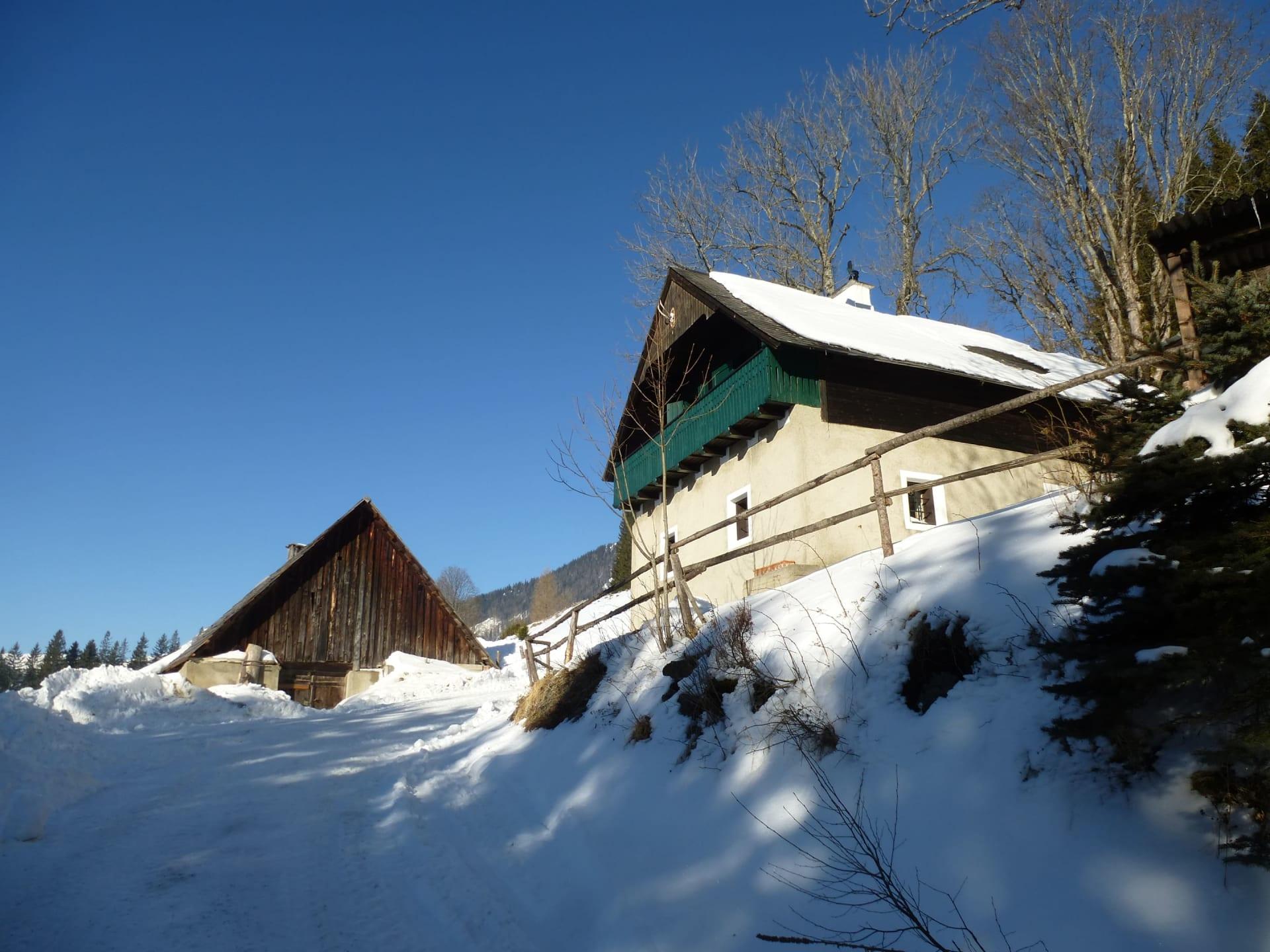 Winterurlaub auf der Alm