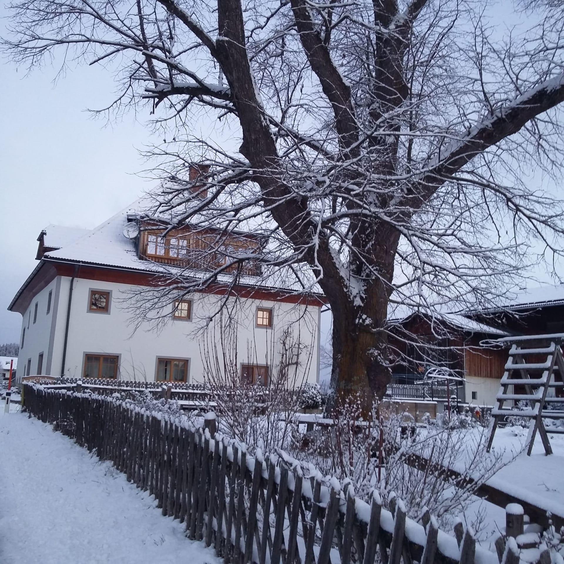 Winter am Tonibauernhof