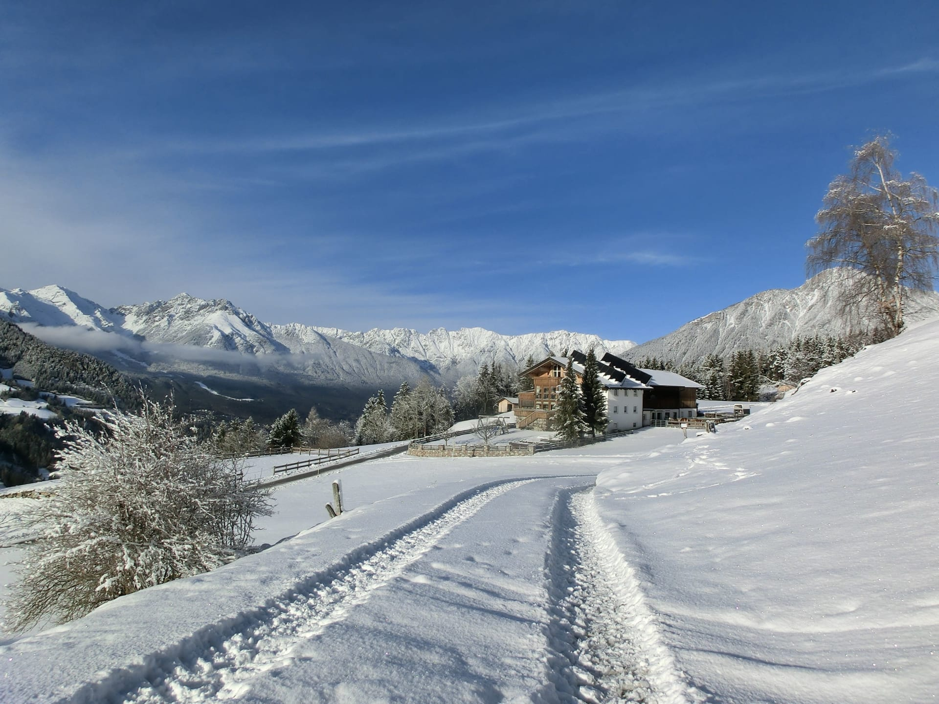 Winterwandern am Berghof