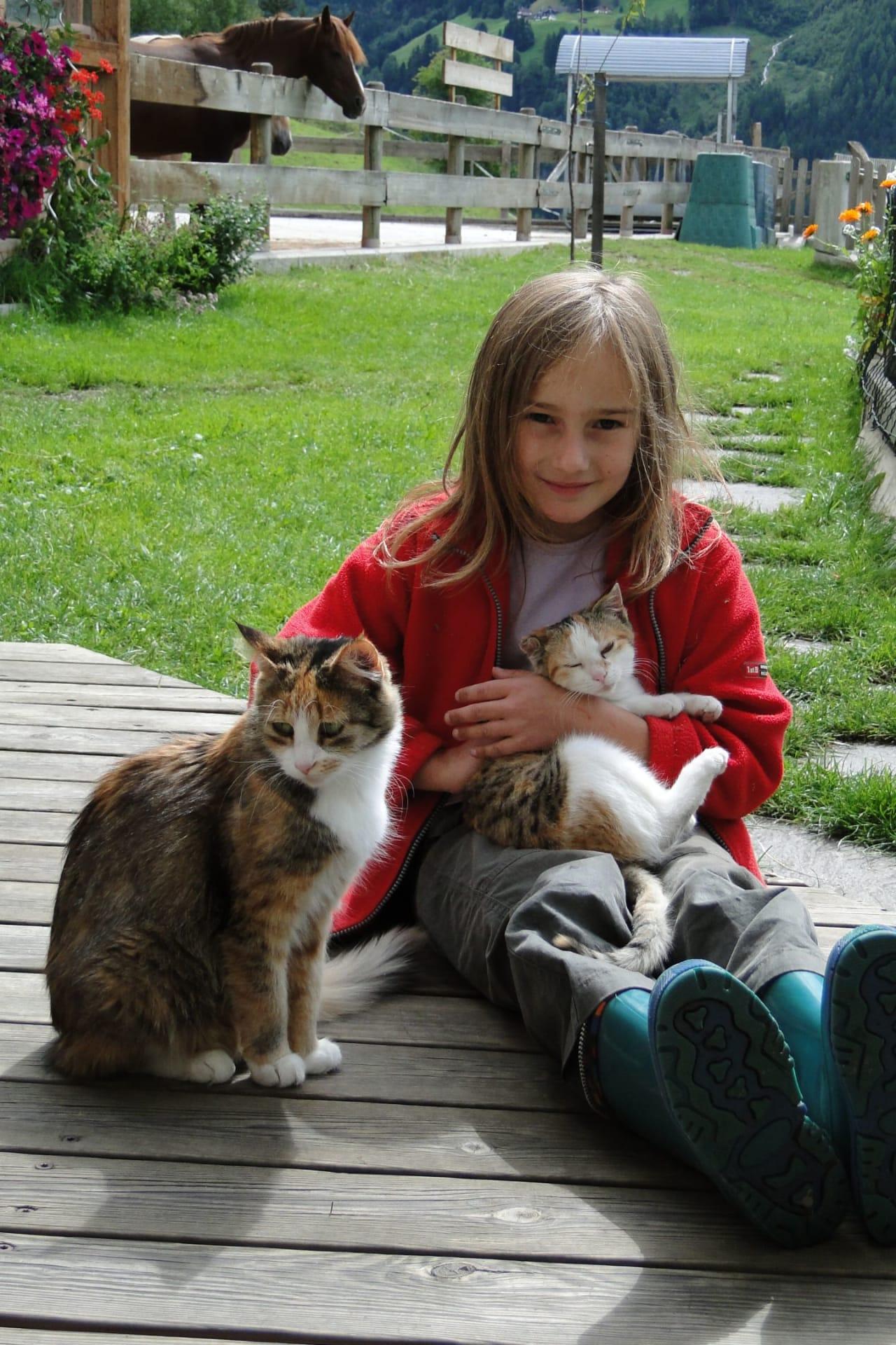 Kinderglück am Bauernhof  im Landhaus Raich
