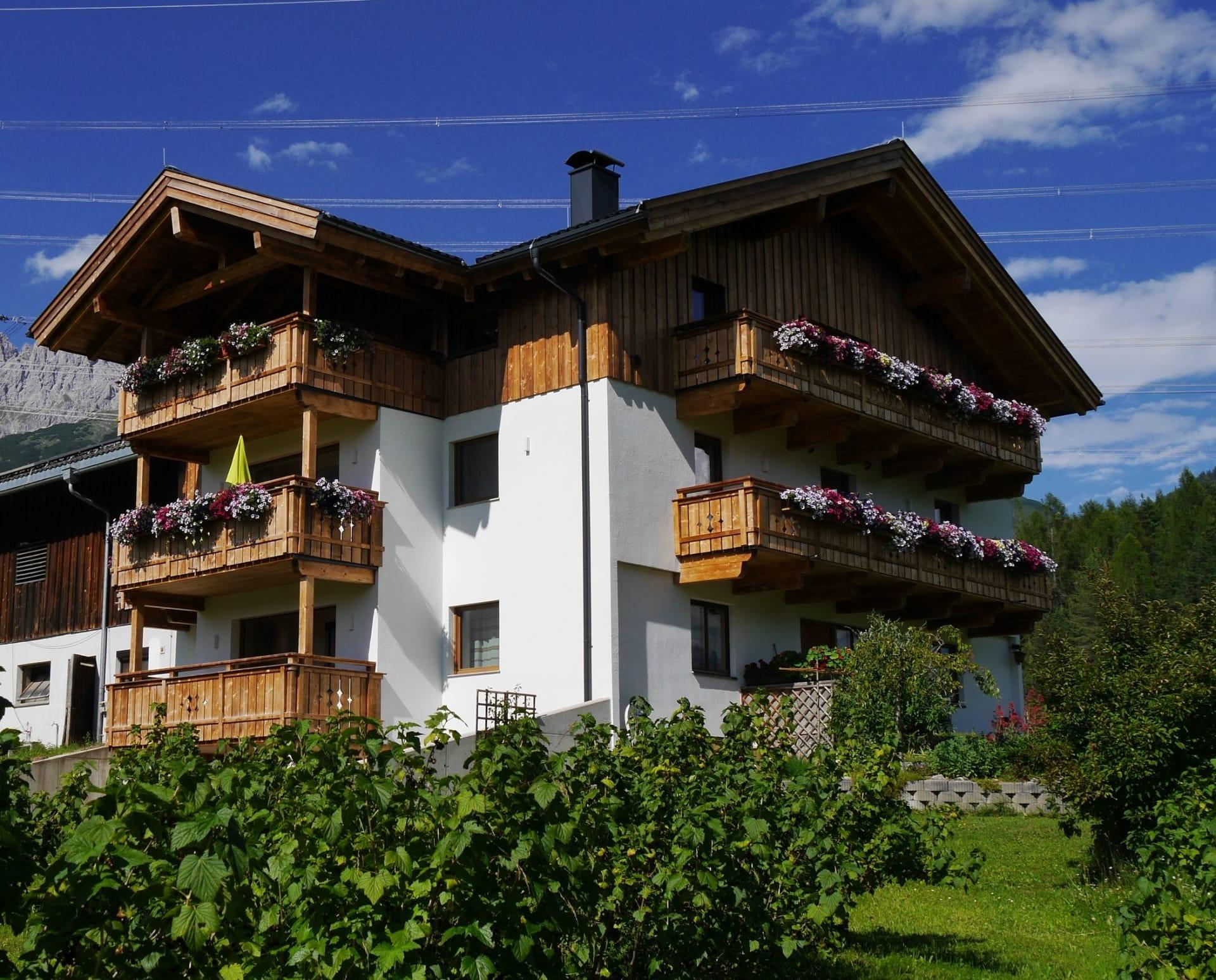 Süd-West Ansicht Bucherhof