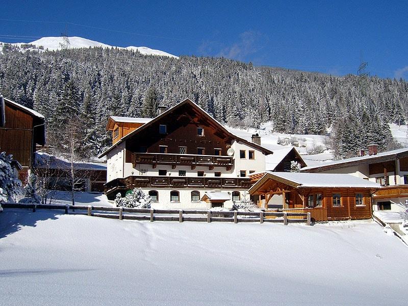 Der Sennhof im Winter