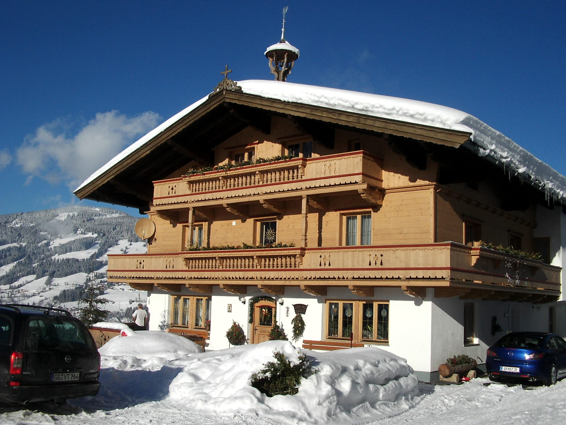 Grillinghof im Winter