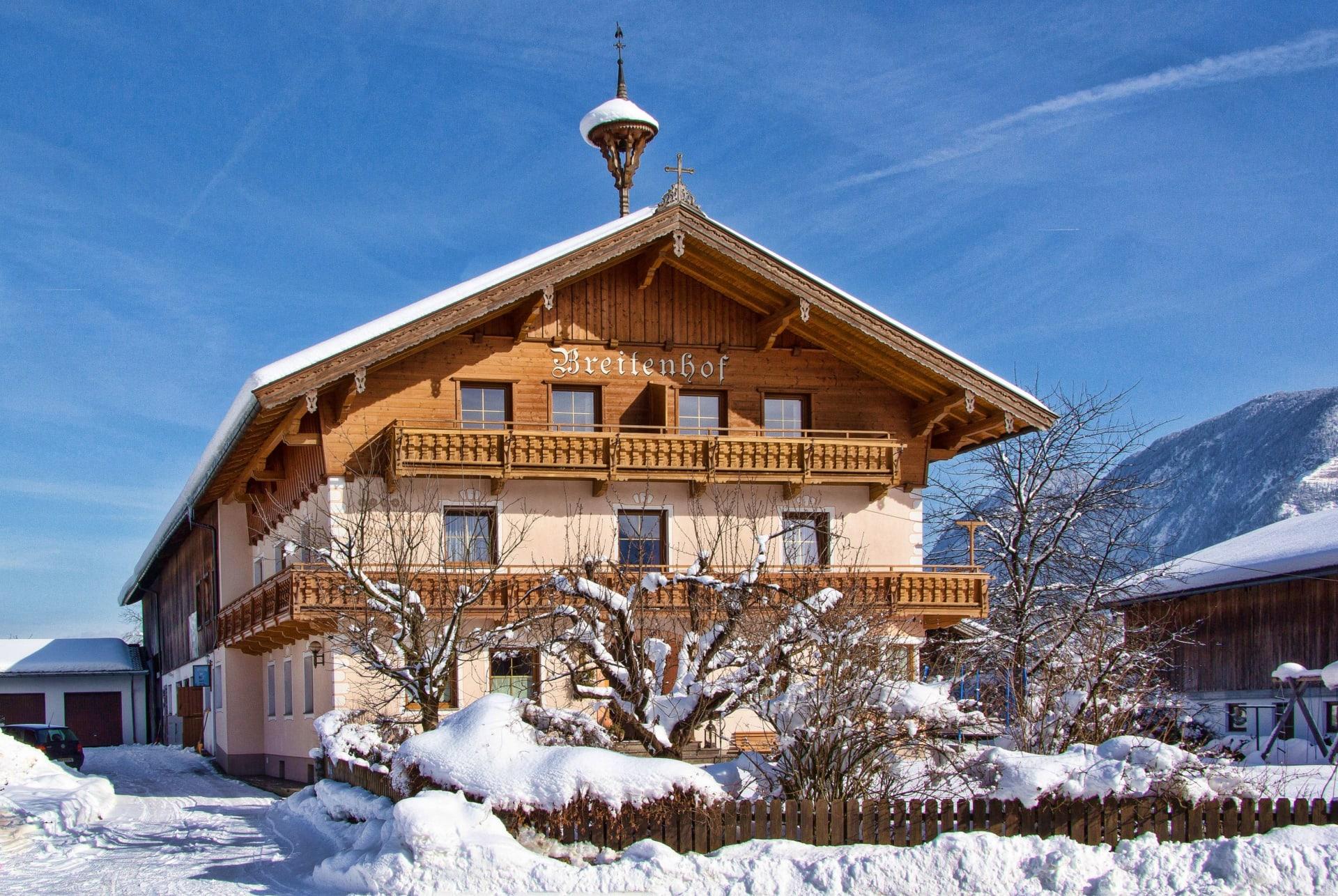 Breitenhof im Winter