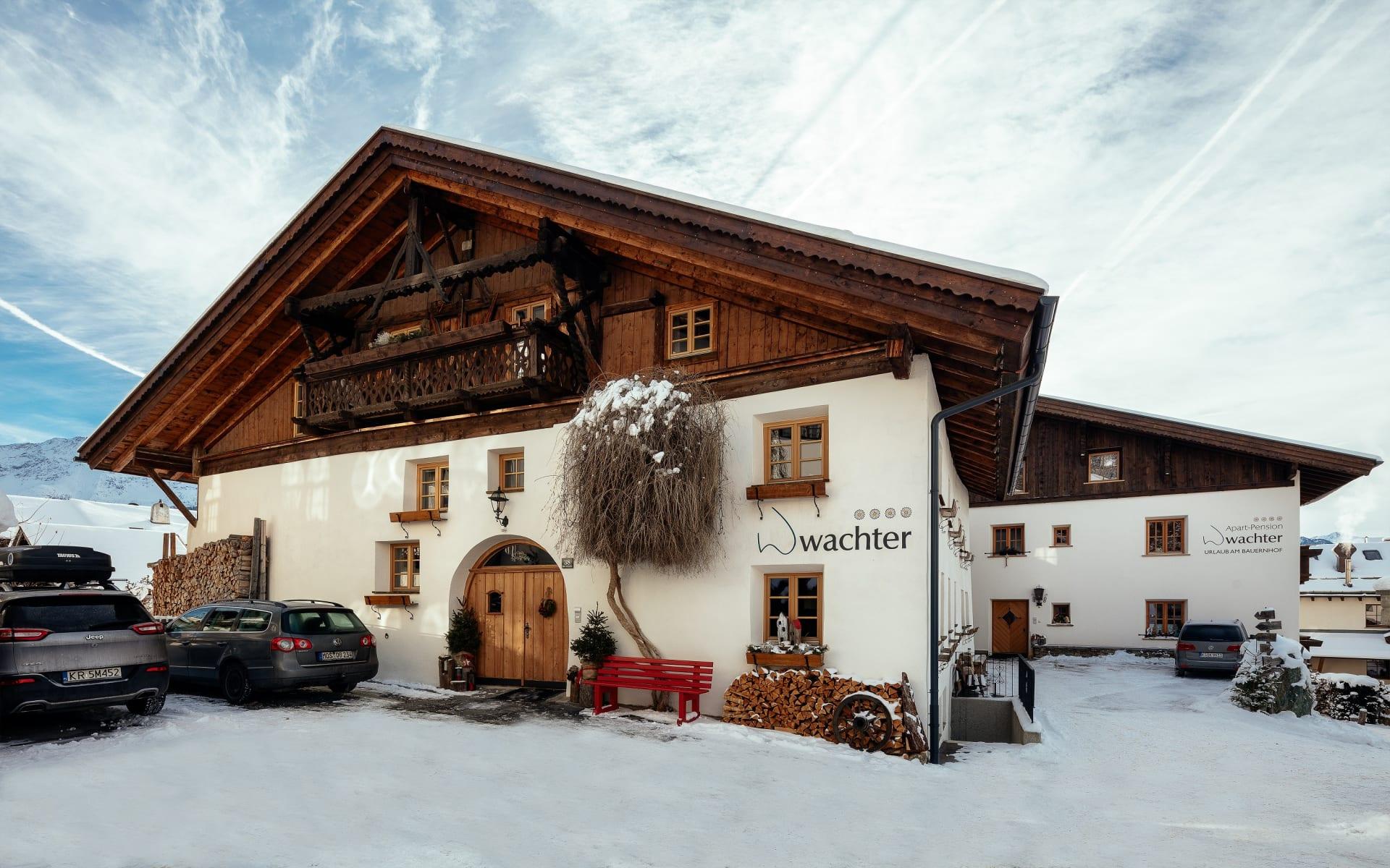 Hofbild Bauernhof Wachter