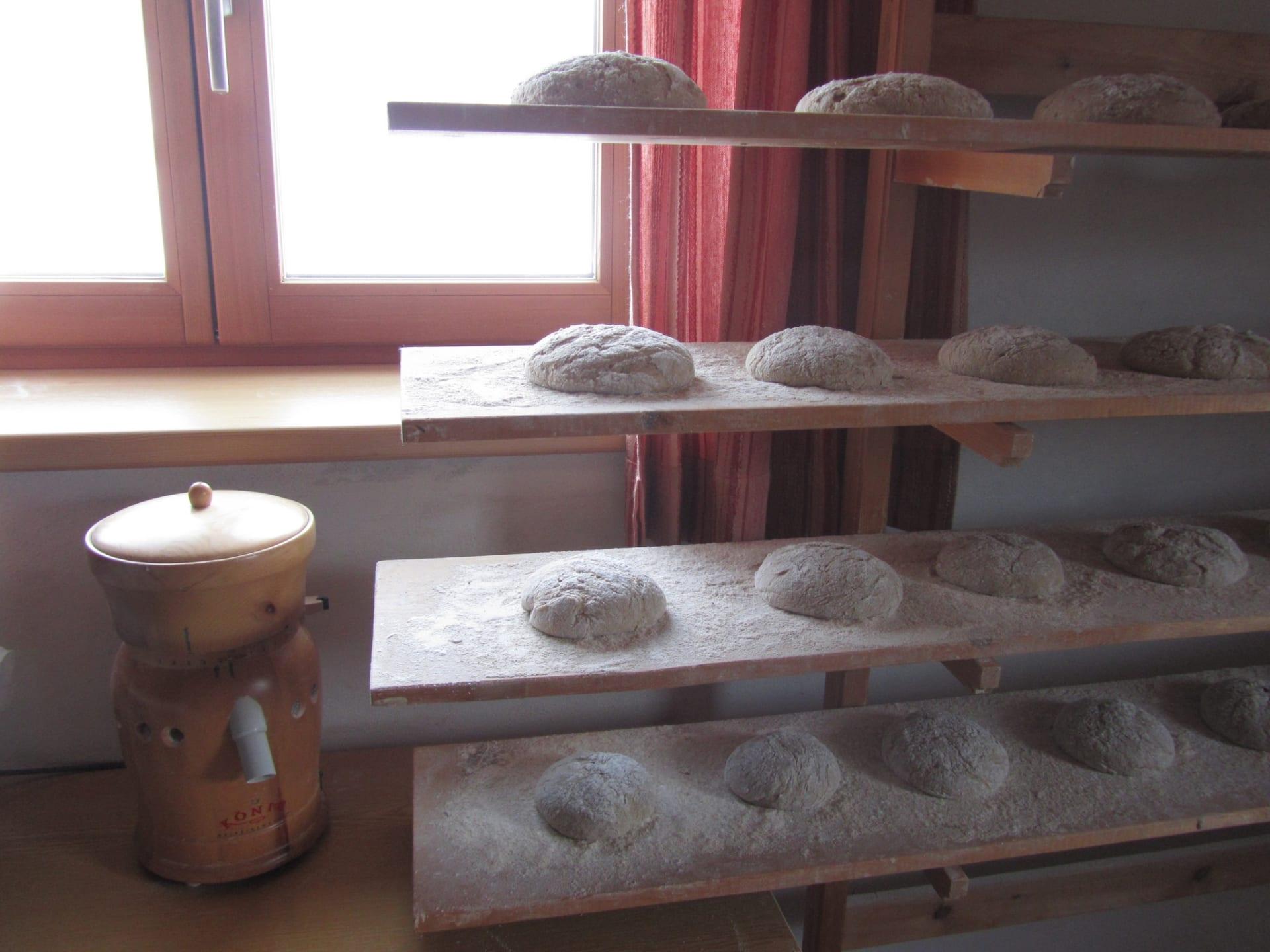 Backtag- bald kommt das Brot in den Ofen!