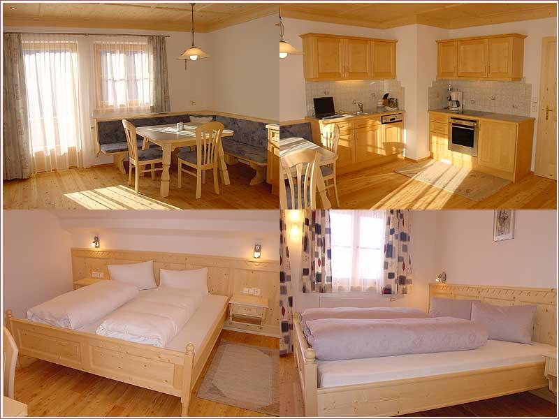 Apartment Dorfblick, 1 DZ-1DBZ
