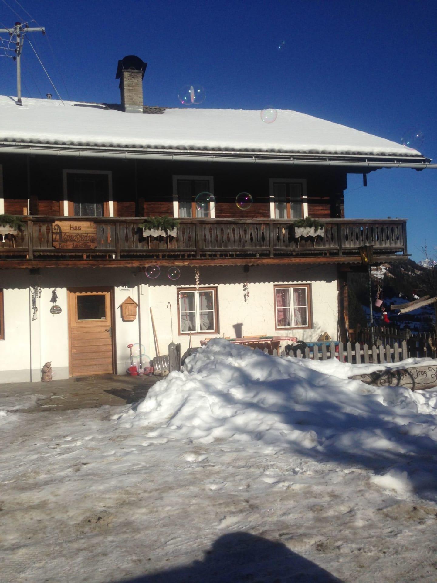 Jogglishof im Winter
