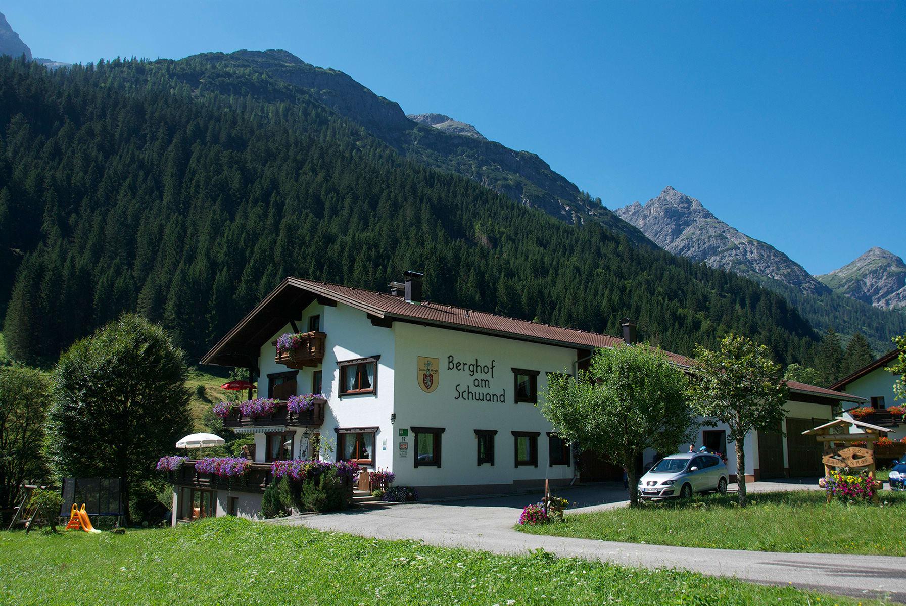 Berghof am Schwand im Sommer