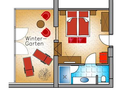 Wintergarten-Suite