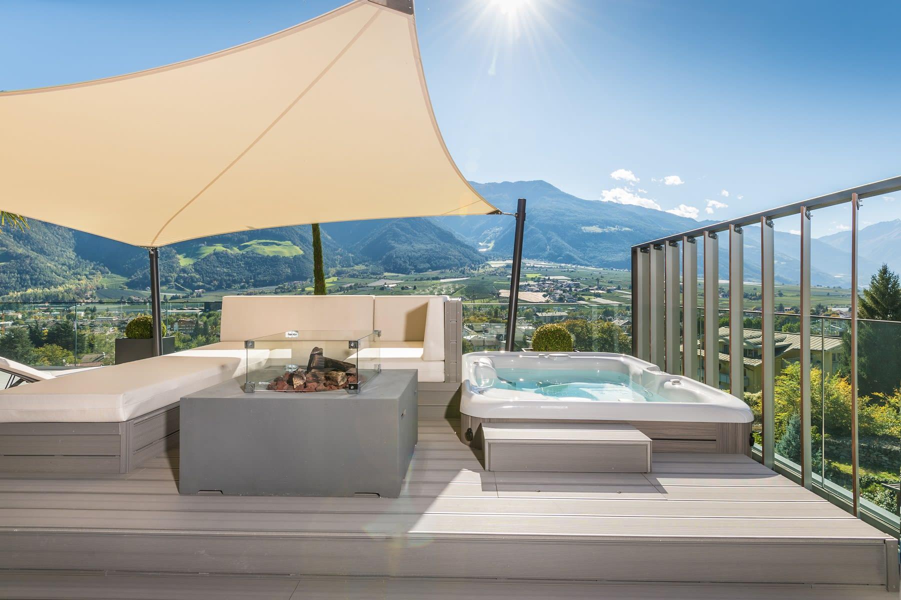 Penthouse Suite DolceVita Premium idromassaggio