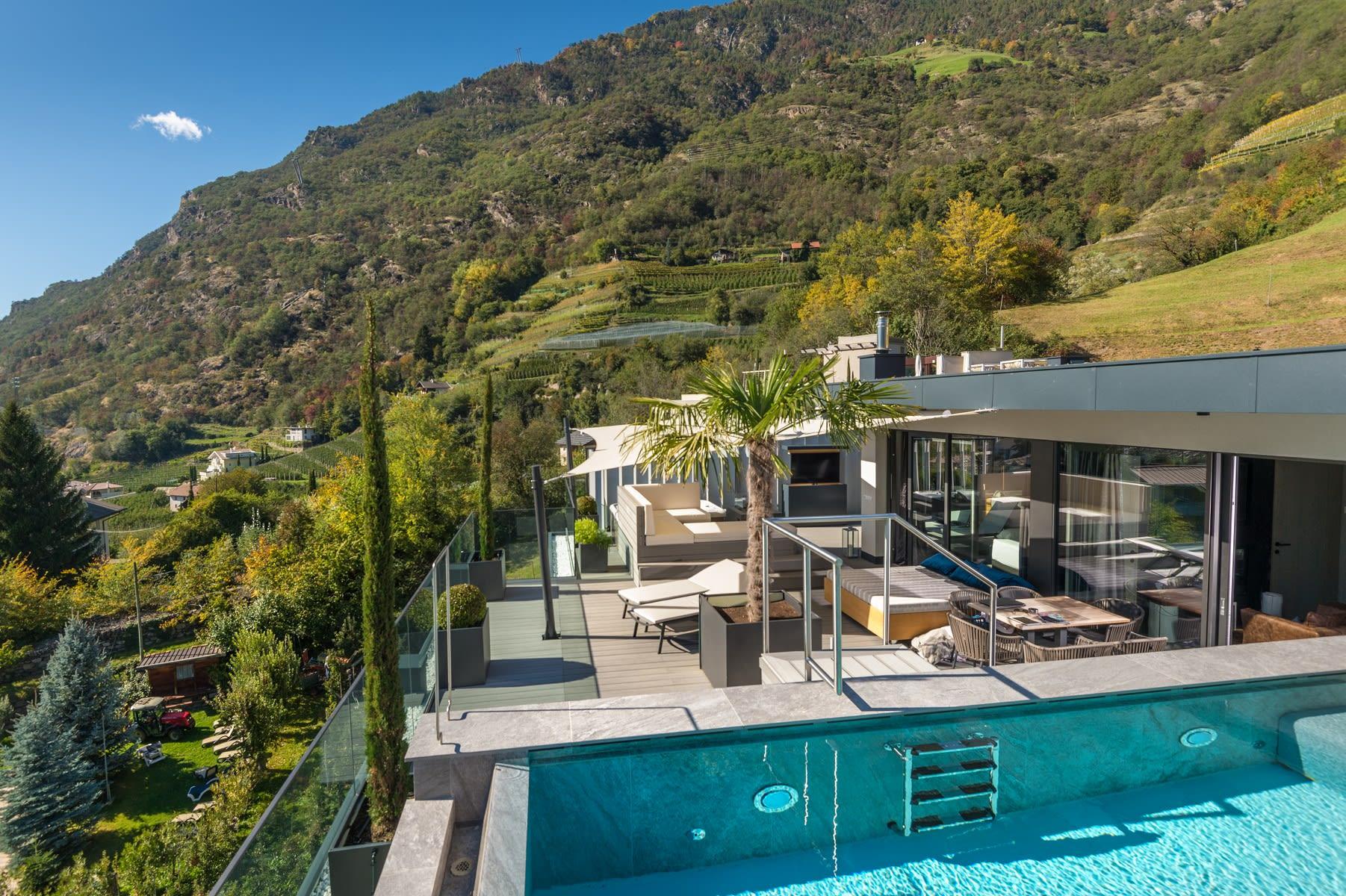 Penthouse Suite DolceVita Premium terrazza