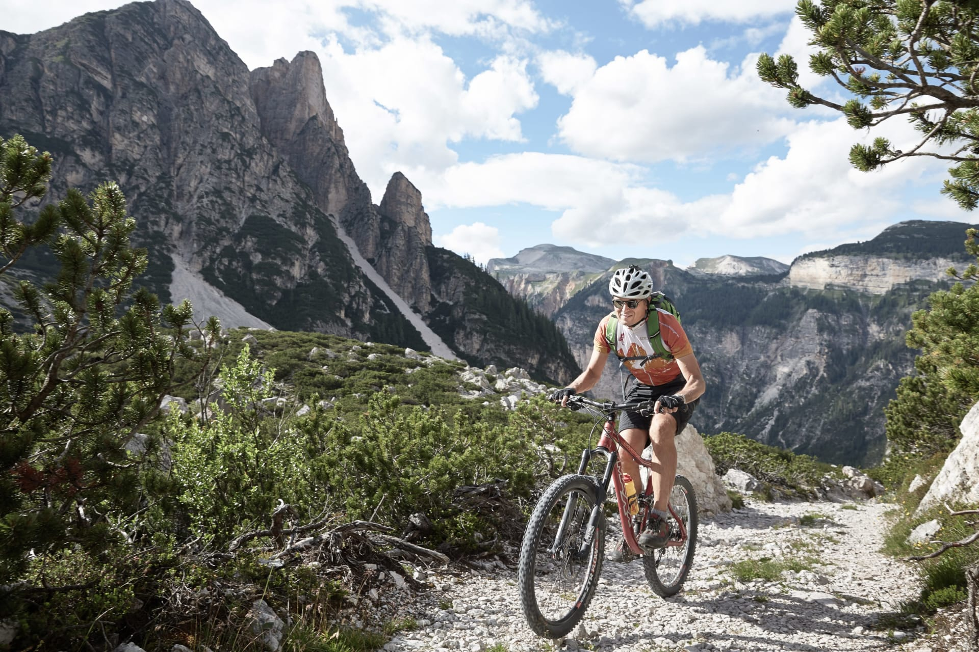 Tour & Trail - Bike & Wellness in den Dolomiten