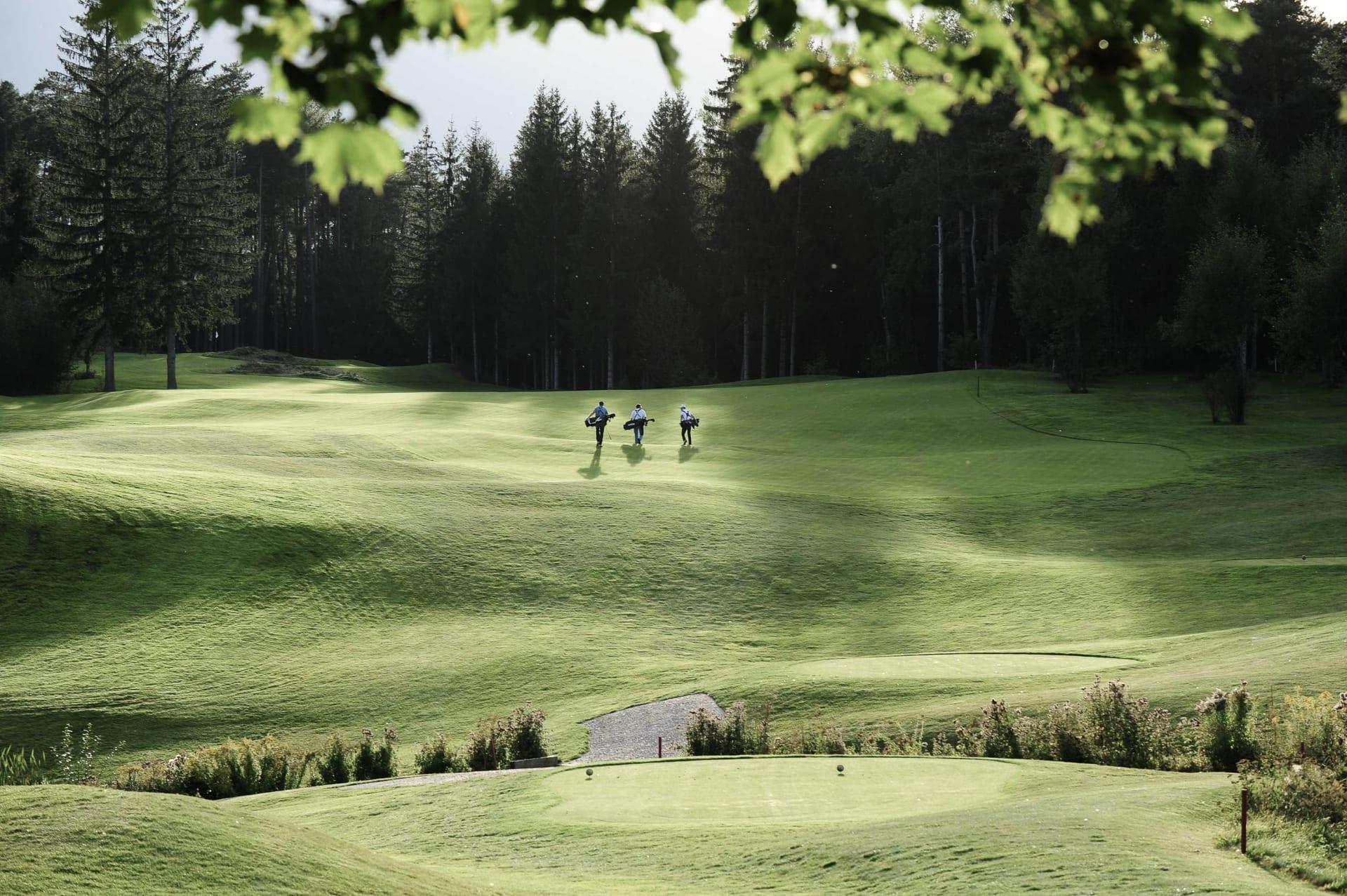 Golf und Wandern im Excelsior