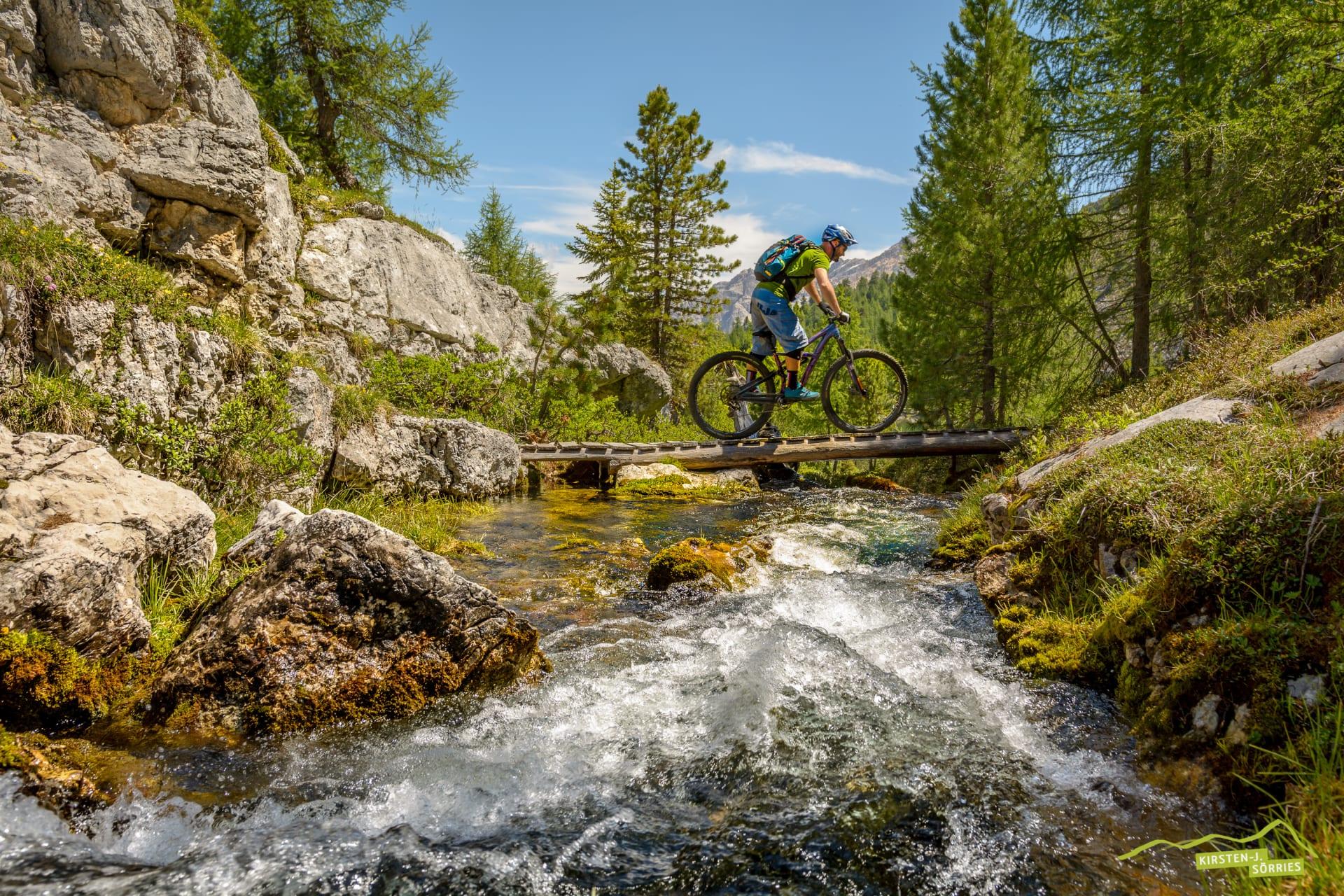 Tour Trail-der besondere Bike- & Wellnessurlaub in den Dolomiten