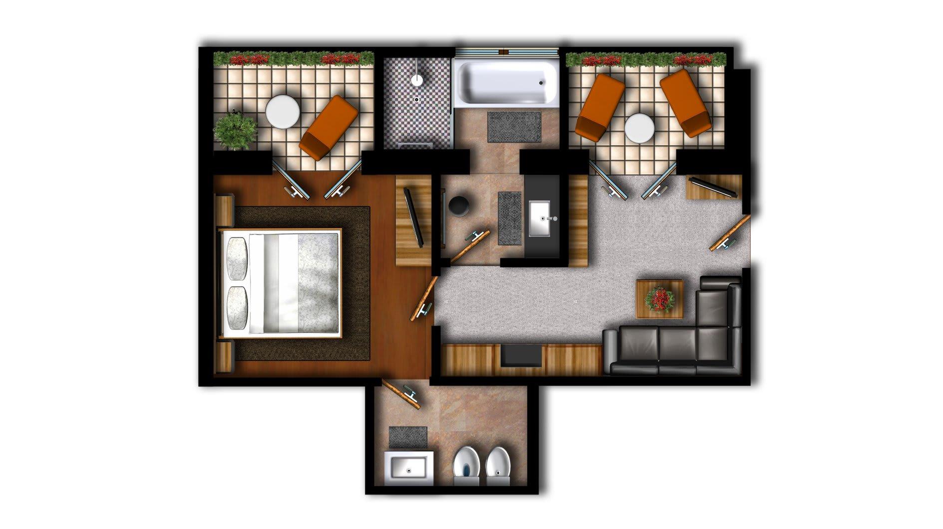 Dppelzimmer Meran
