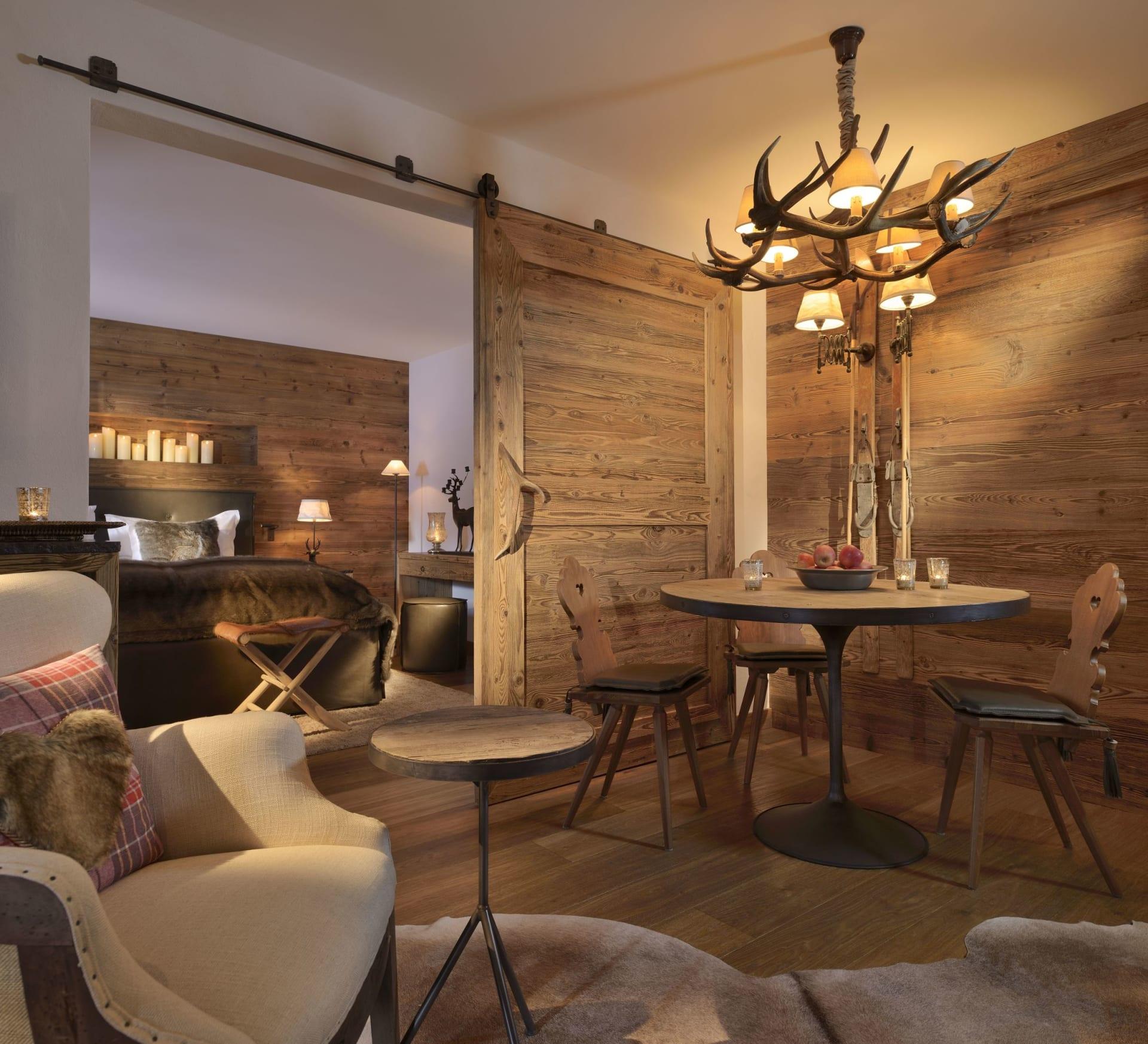 Jagdhof Suite mit Westbalkon
