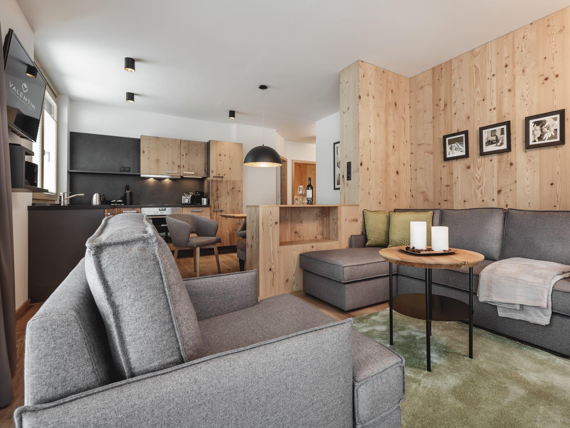 Designer Zimmer im Apartmenthaus Valentin in Sölden