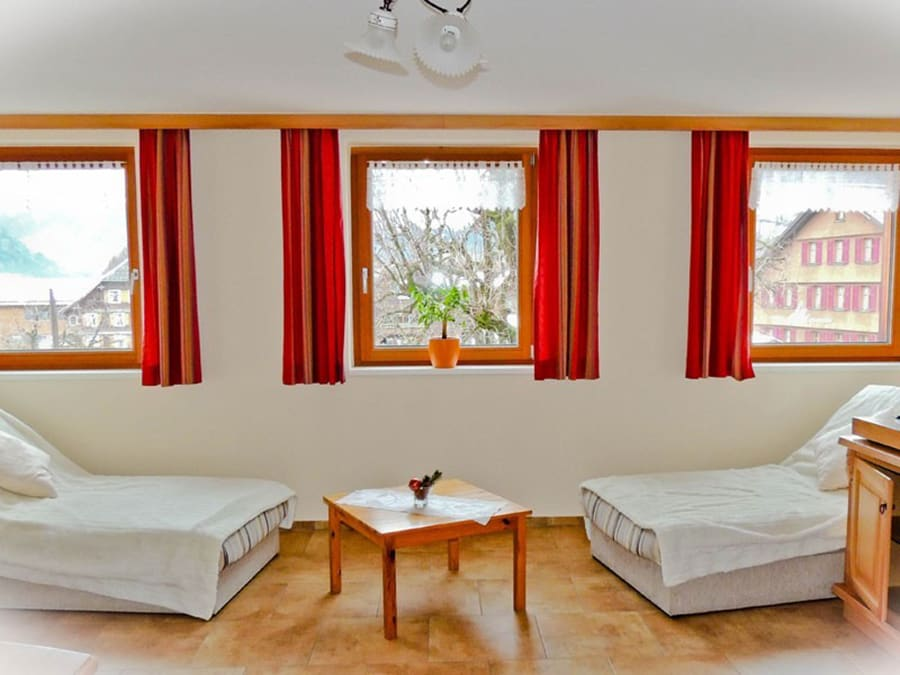 tre soli in schoppernau. Black Bedroom Furniture Sets. Home Design Ideas
