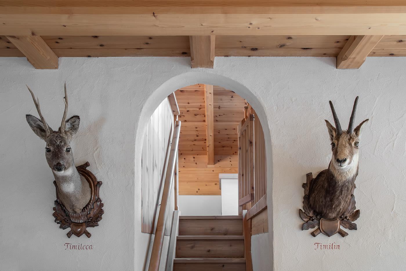 """Cirmolo"" Swiss Pine Chalet Suite"