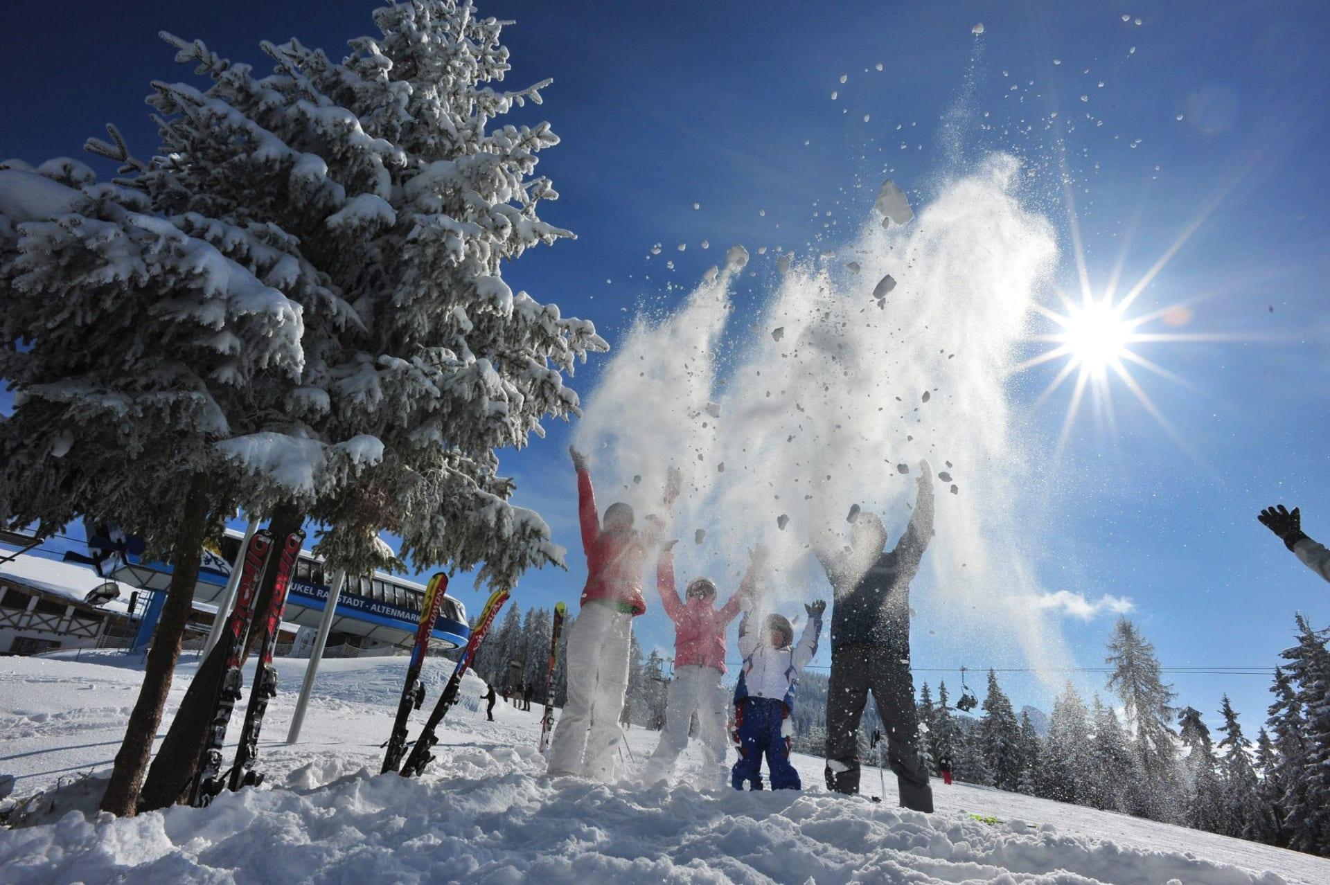 4=3 Kurzurlaub Ski Amadé