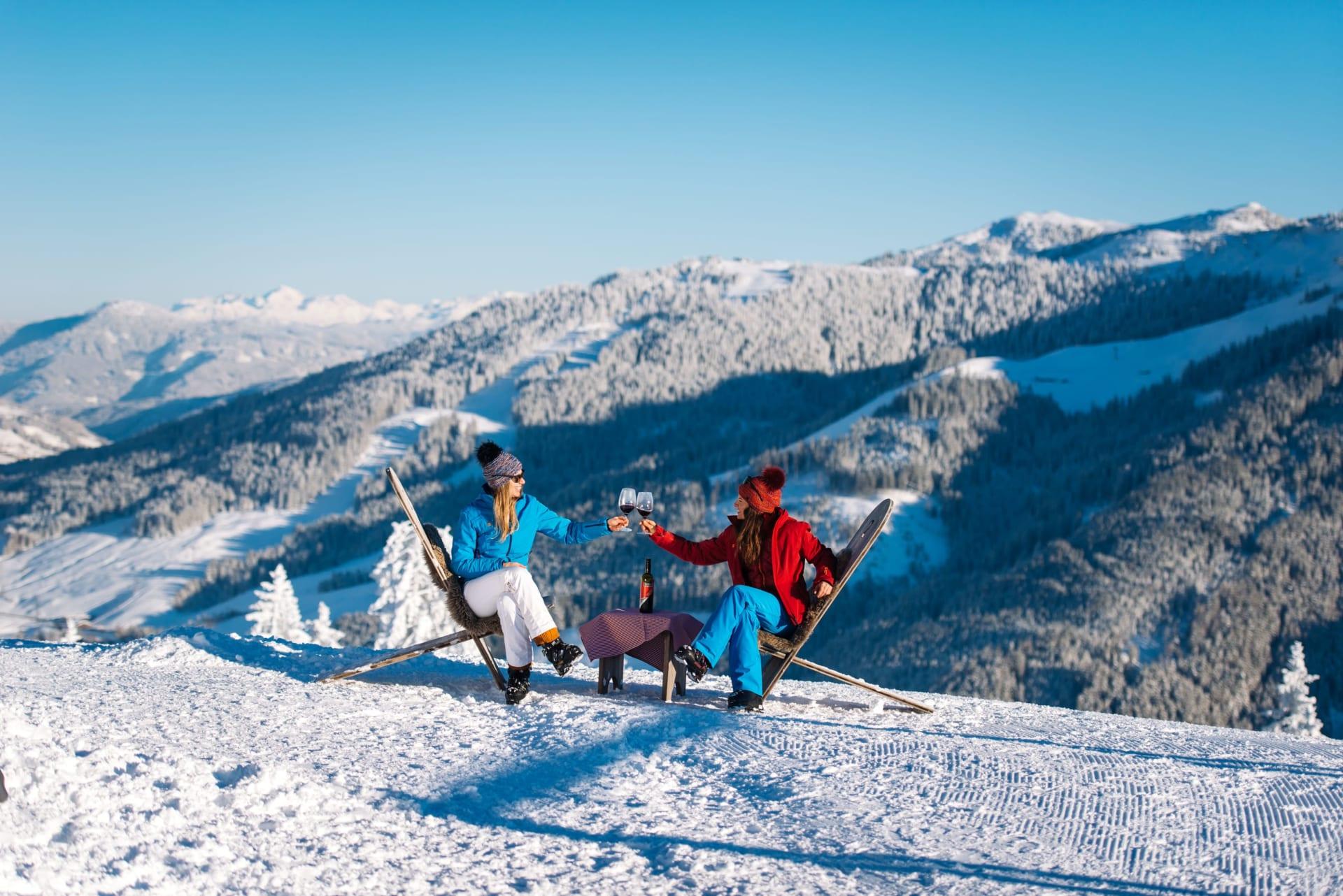 Skigenuss zur Märzmitte in der Salzburger Sportwelt