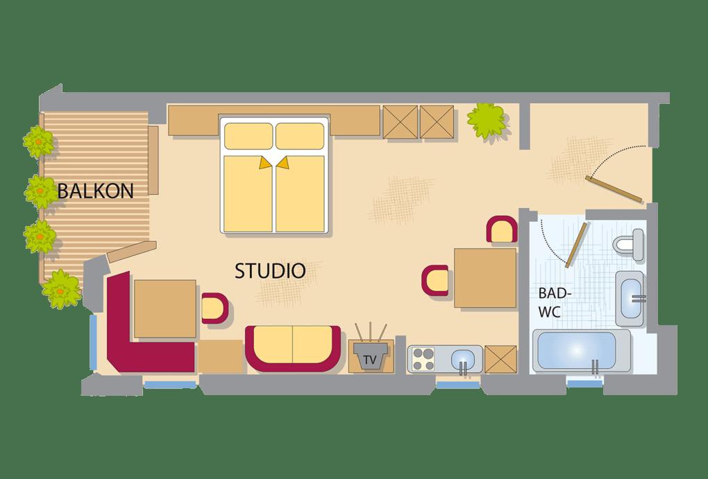 appart studio s d superior appart studio appart studio. Black Bedroom Furniture Sets. Home Design Ideas