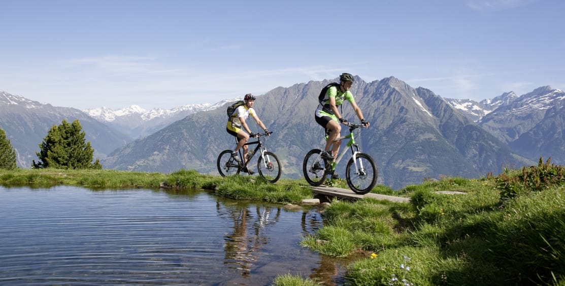 Mountain bike weeks in autumn with 315 sunny days