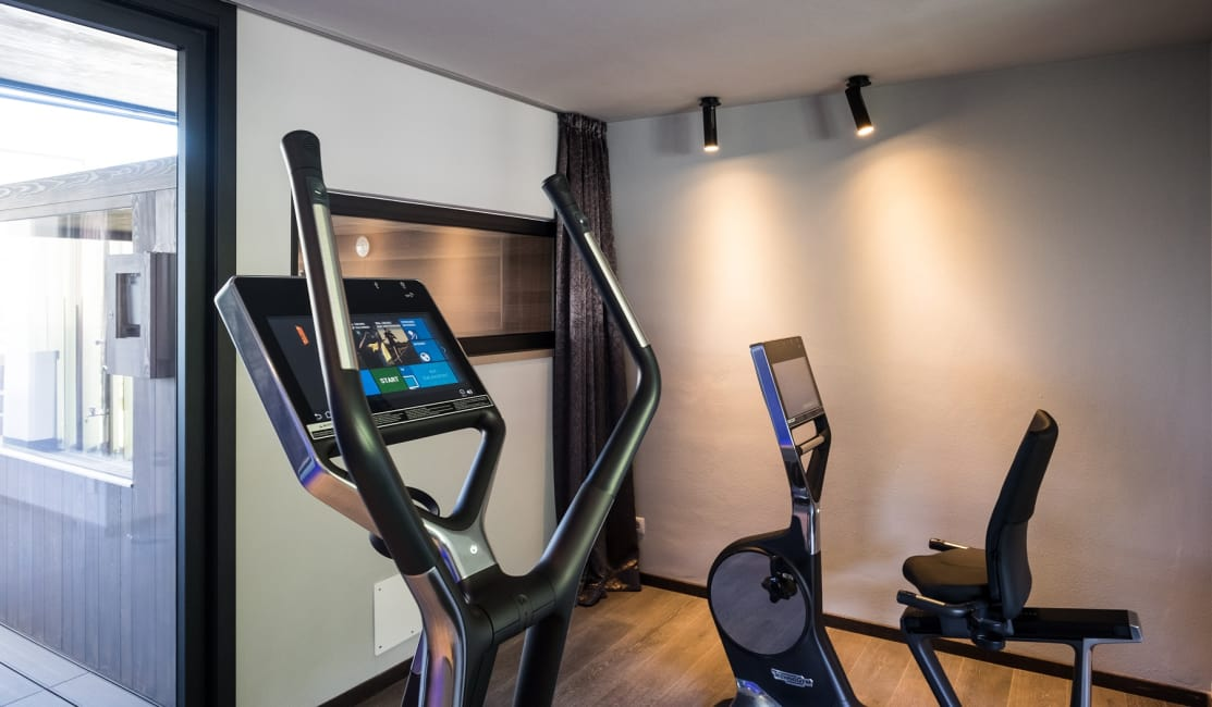 Penthouse Suite DolceVita Premium Fitness-Lounge